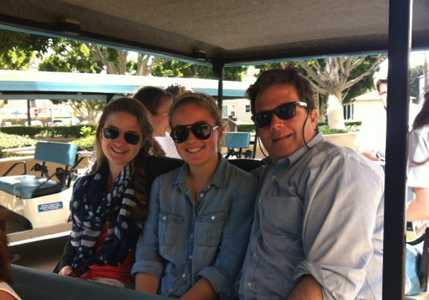 Rob Mathias, CEO of Ogilvy PR North America, with his daughters