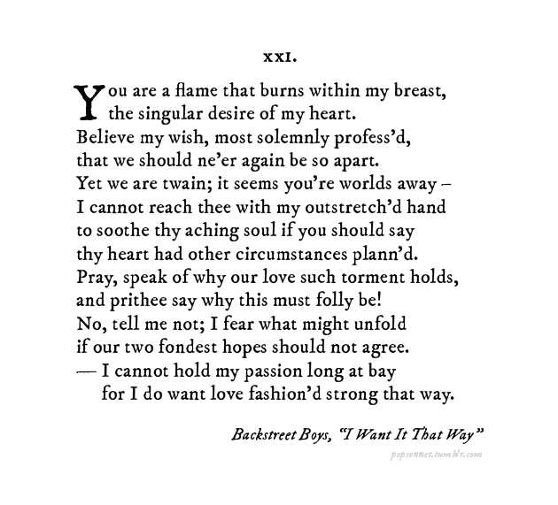 Pop Sonnets Turns Taylor Swift, Beyonce Songs Into