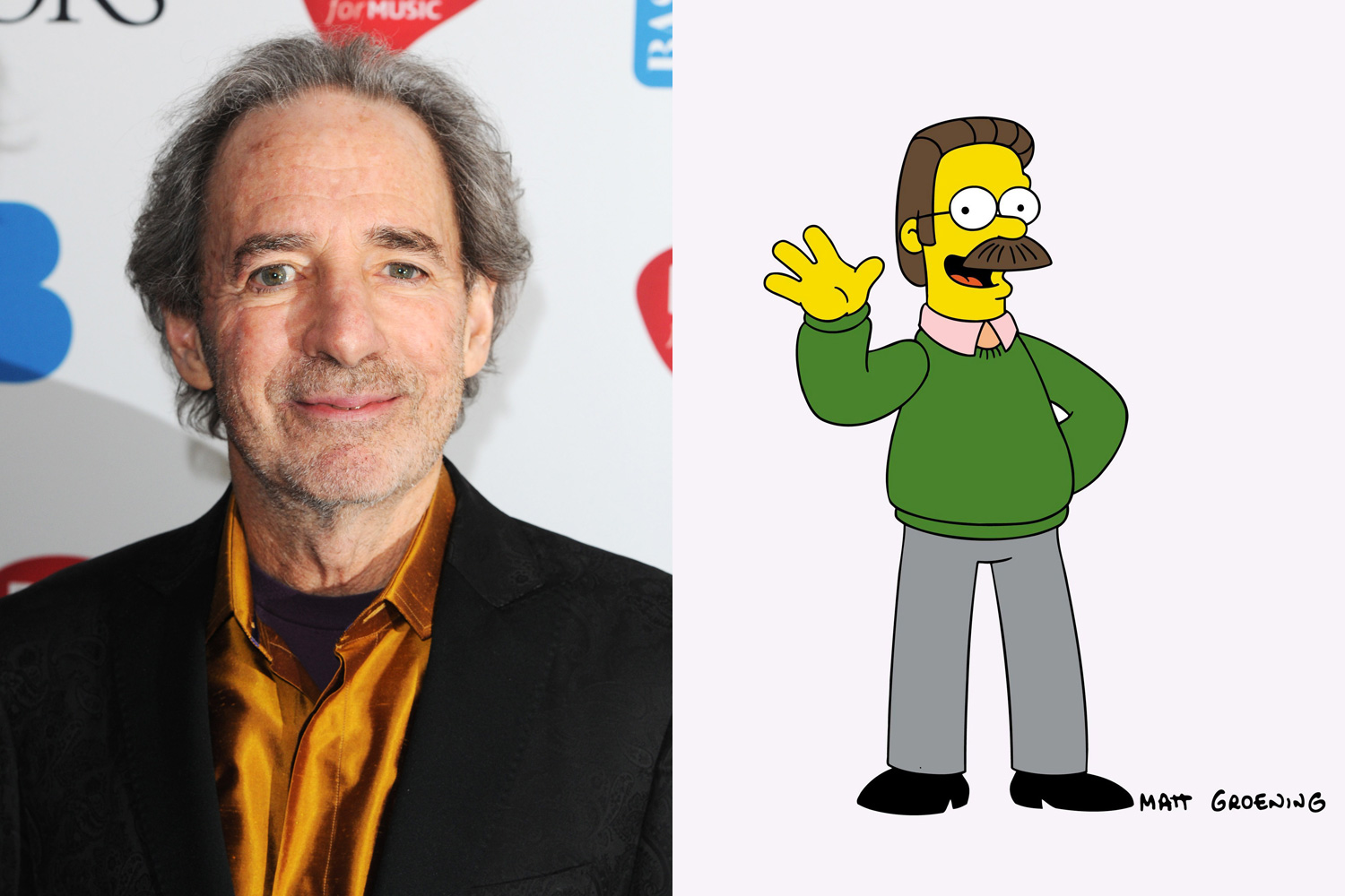 The other everyman of the series,  Harry Shearer gives voice to Ned Flanders, Mr. Burns, Principal Skinner and a host of other Springfield residents.