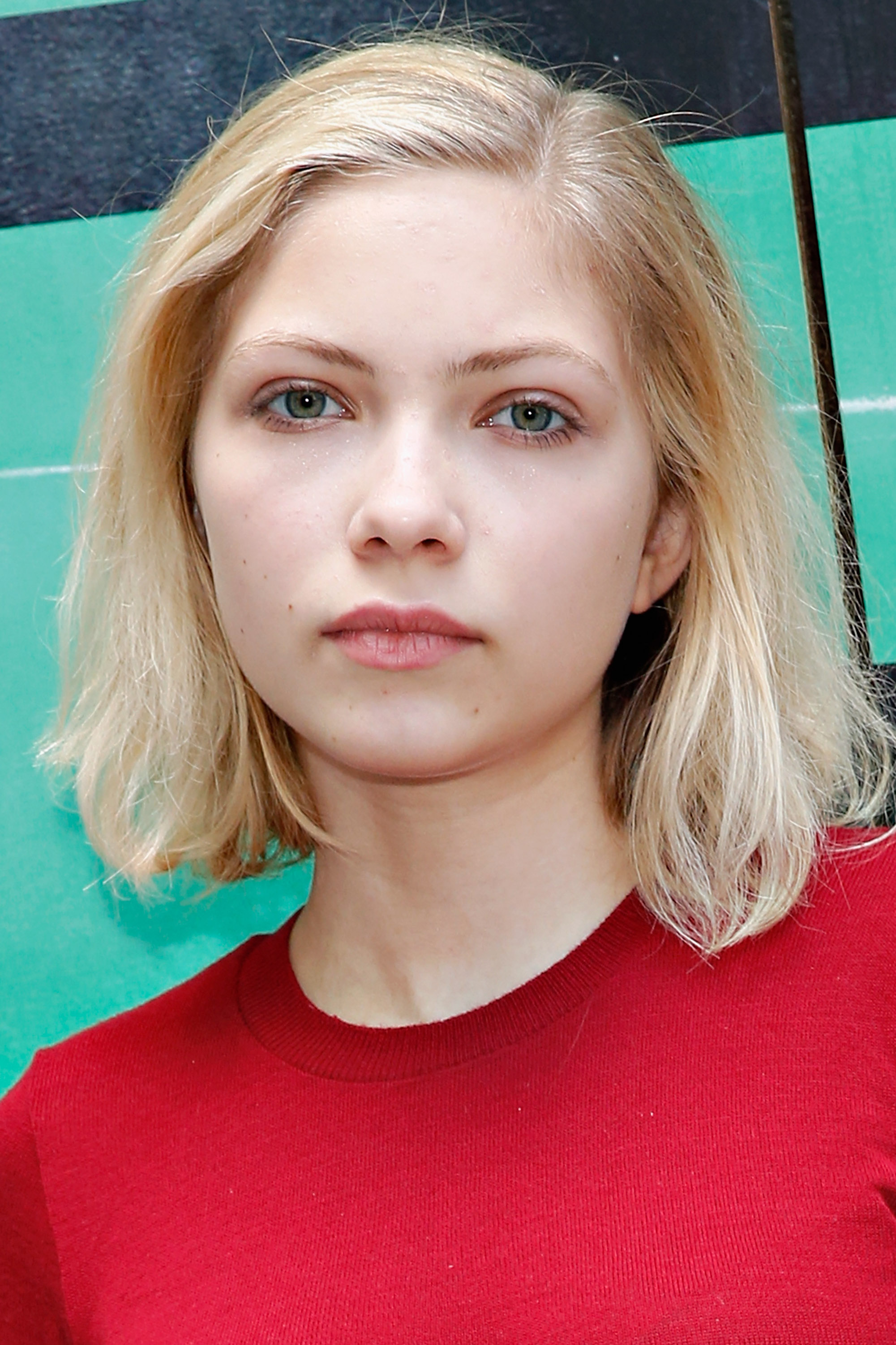 Actress Tavi Gevinson attends the  This Is Our Youth  Cast Photo Call at Cort Theatre on August 14, 2014 in New York City.