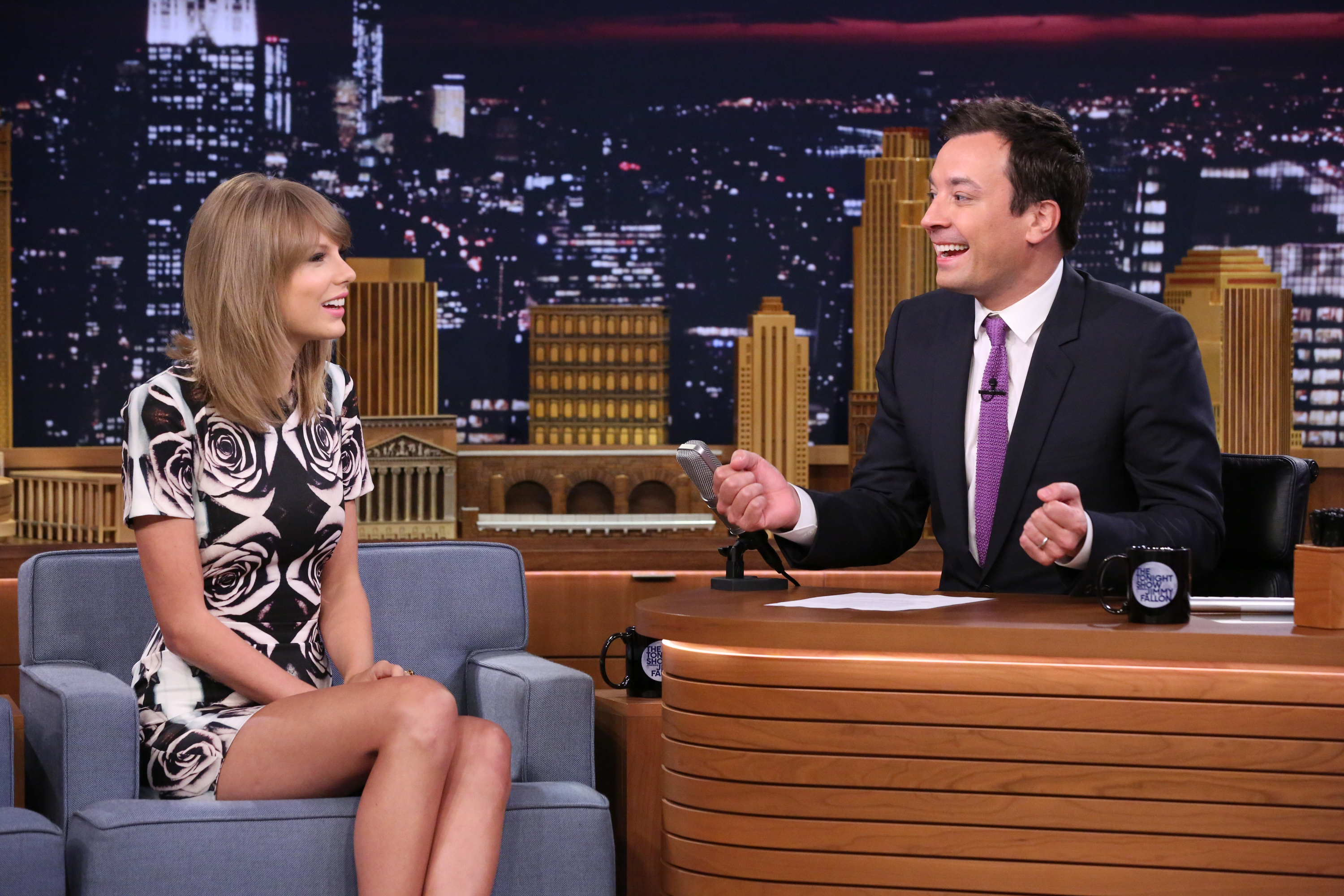Taylor Swift Nerds Out With Jimmy Fallon Time