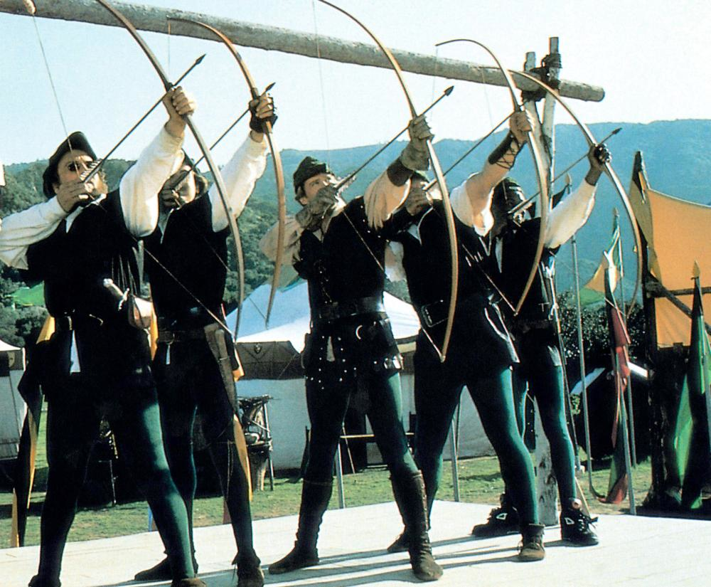 A still from Robin Hood: Men in Tights