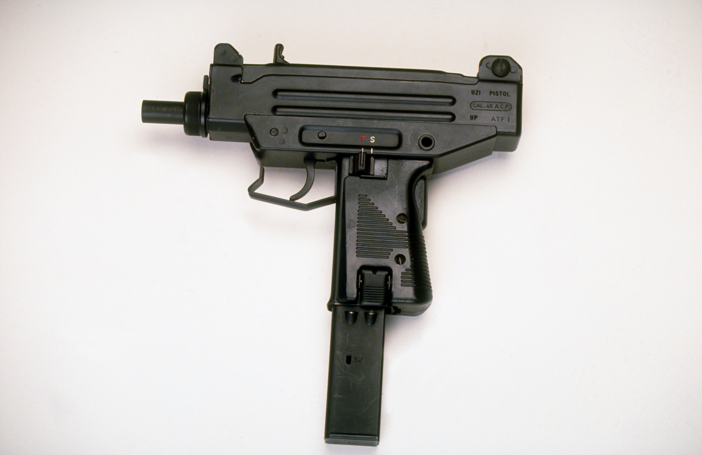 An UZI assault pistol