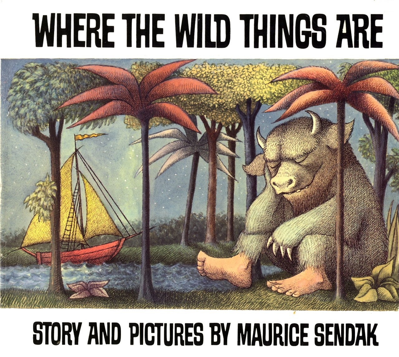 Where the Wild Things Are, by Maurice Sendak.                                                                                                                             The adventure that has inspired generations of children to let out their inner monsters, showing how imagination allows for an escape from life's doldrums. It's also a moving testament to family love: when young Max returns from his reverie, his mother has saved him a hot dinner.                                                                                                                            Buy now: Where the Wild Things Are