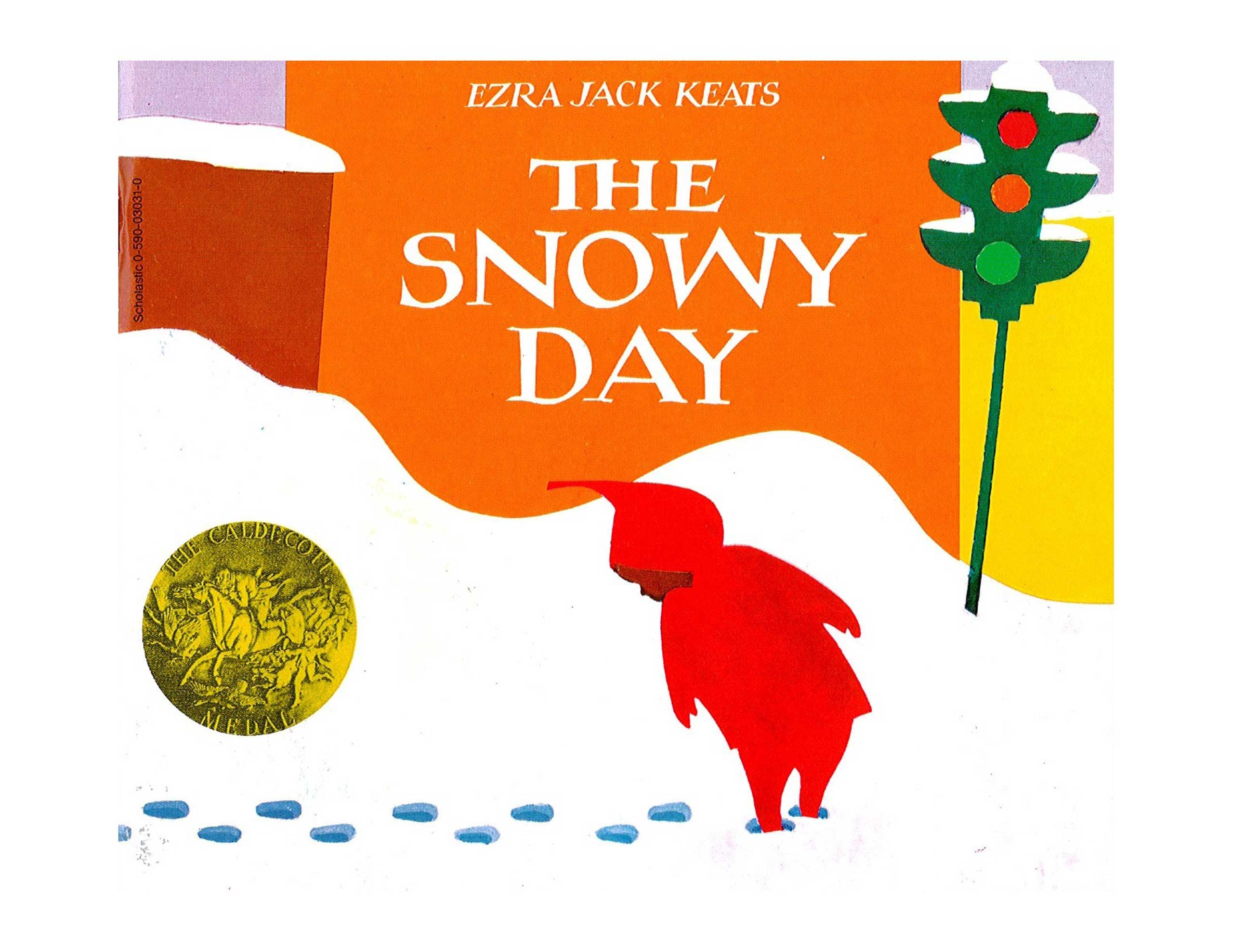 The Snowy Day, by Ezra Jack Keats.                                                                                                                             The journey of Peter through a snowbound New York City made for a milestone: as a successful children's story focused on a black protagonist, it broke down barriers many white editors may have never noticed. But Keats' book is memorable too for the sheer beauty of its collage illustrations.                                                                                             Buy now: The Snowy Day