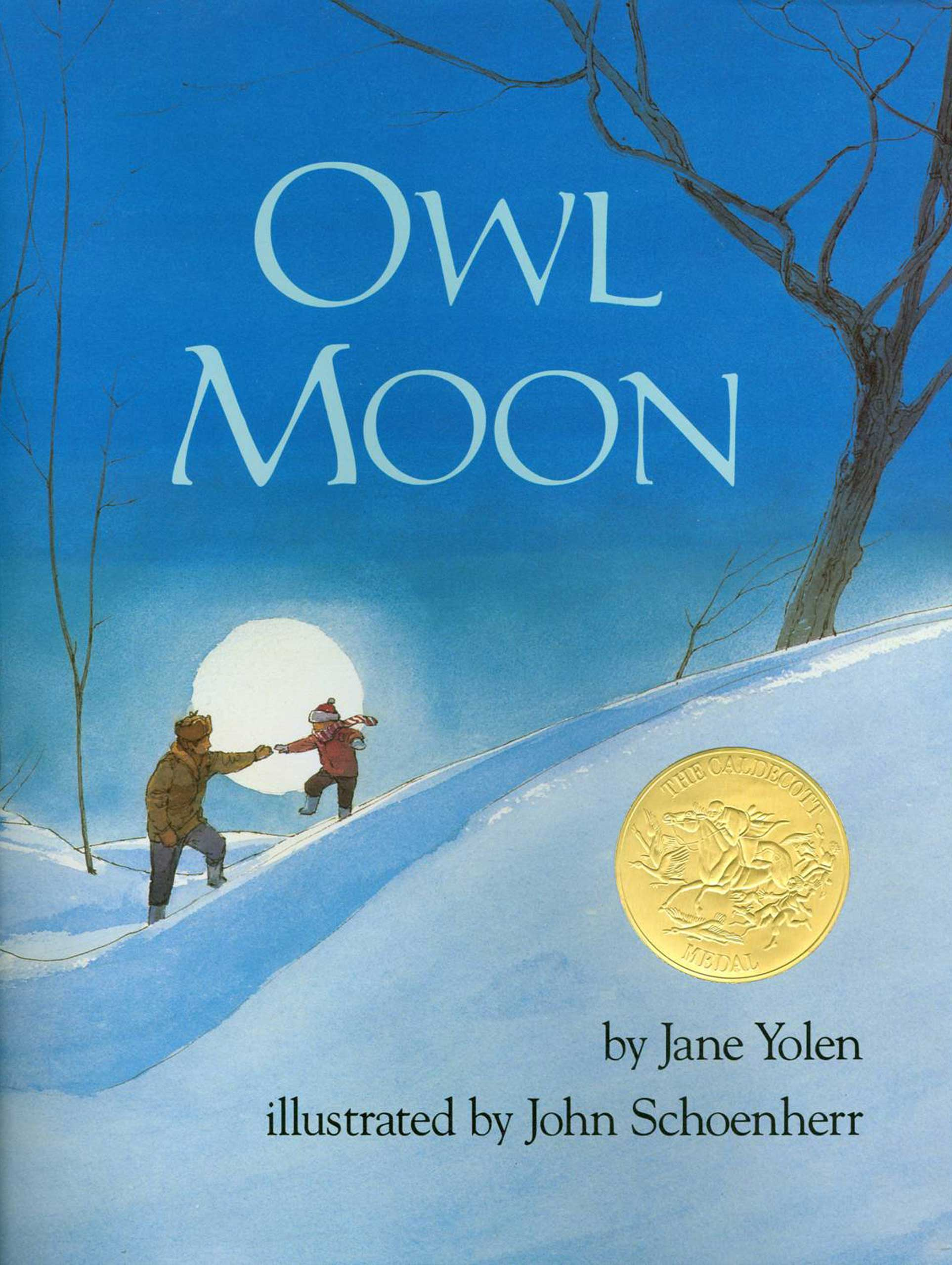 Owl Moon, by Jane Yolen, illustrations by John Schoenherr.                                                                                                                            Many young bird watchers likely owe their passion to this story of a father-daughter trip to find the elusive great horned owl takes flight thanks to Schoenherr's evocative woods-at-night illustrations.                                                                                                                            Buy now: Owl Moon