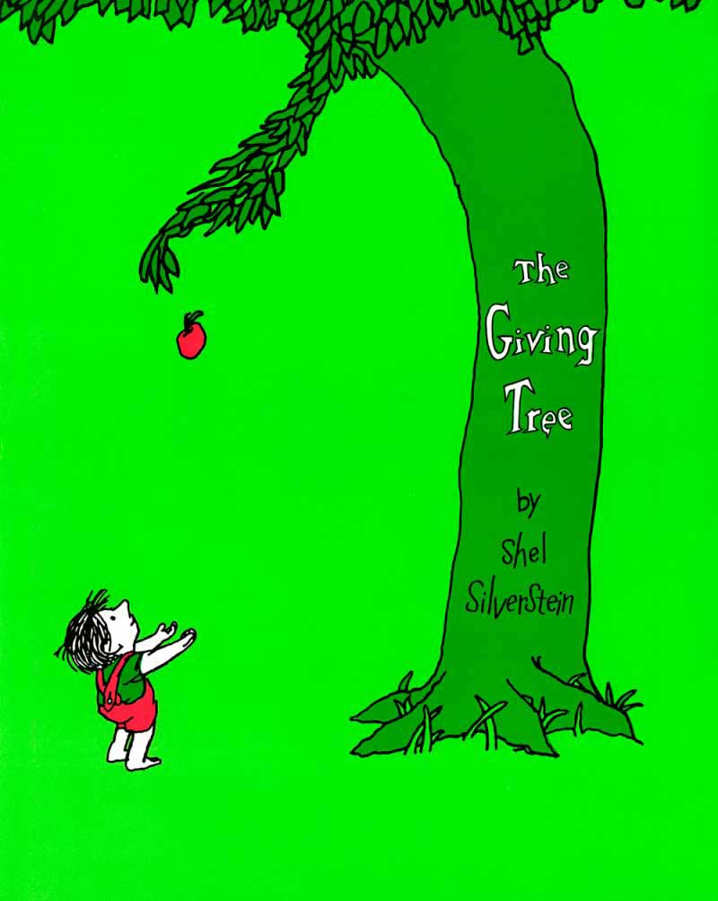 The Giving Tree, by Shel Silverstein.                                                                                                                            It's hard to imagine a story more poignant than the tale of a tree that gives its life for a boy turned self-centered young man. It's been interpreted along environmentalist and religious lines, but all can agree on the beauty of its underlying theme of generosity.                                                                                                                            Buy now: The Giving Tree