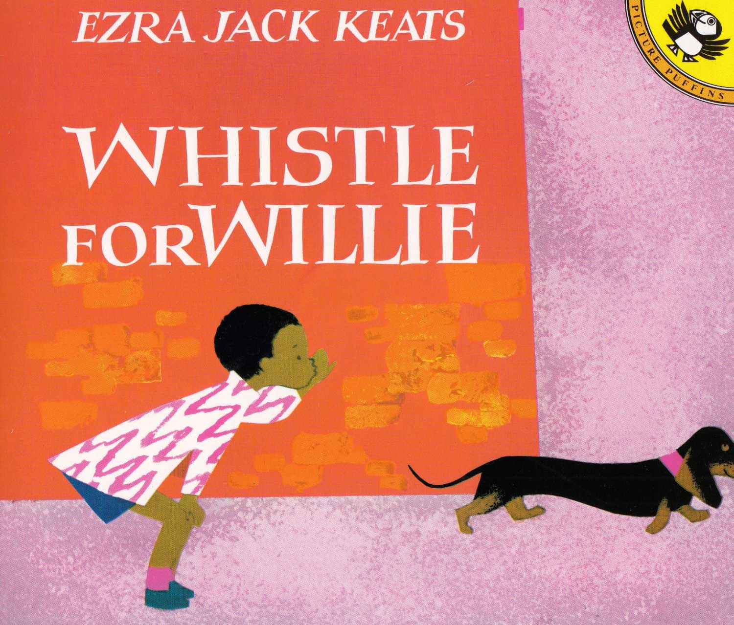 Whistle for Willie, by Ezra Jack Keats.                                                                                                                            Richly colorful illustrations accompany this tale about a boy learning to whistle.                                                                                                                            Buy now: Whistle for Willie