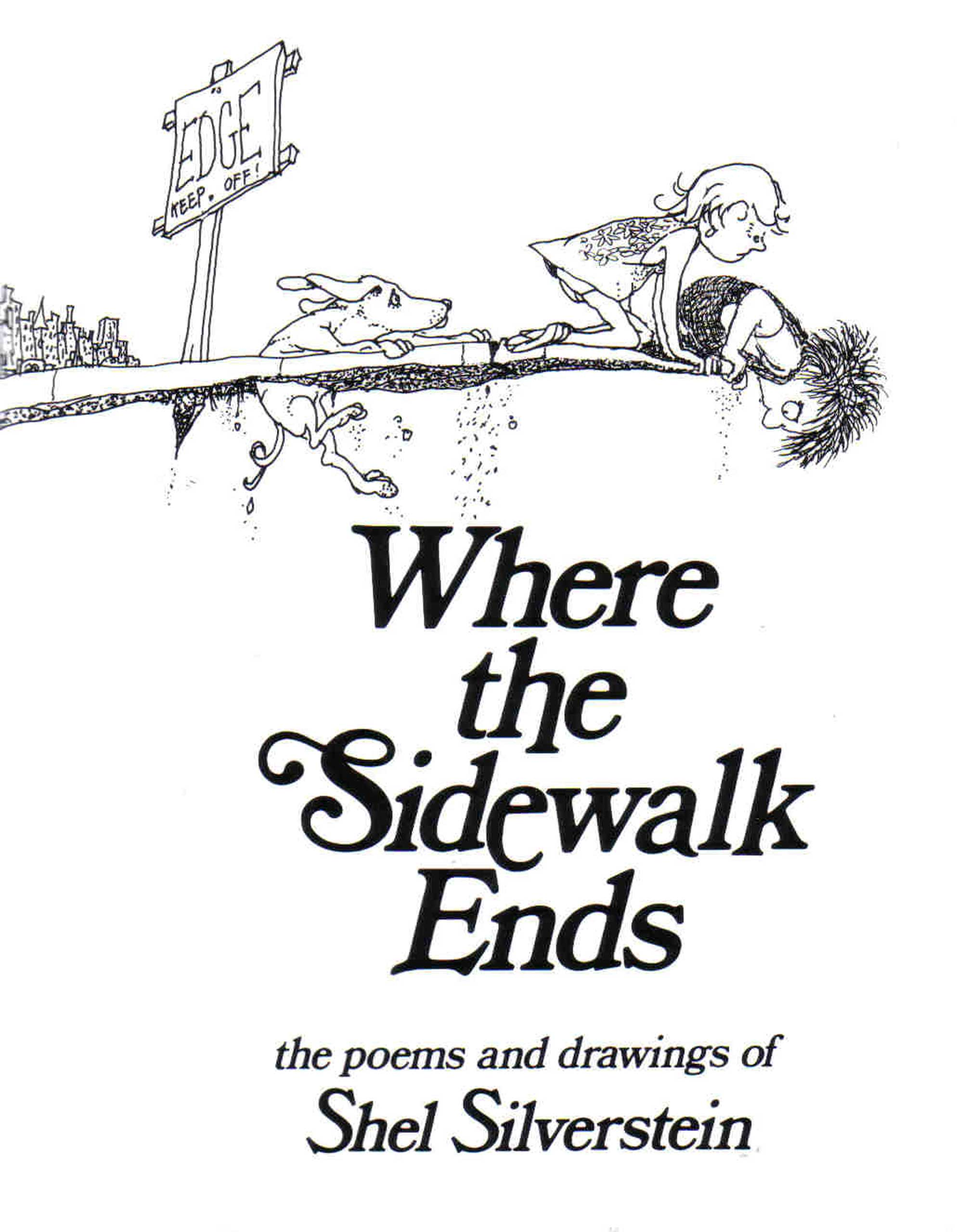 "Where the Sidewalk Ends, by Shel Silverstein.                                                                                                                            Silverstein wasn't just good at tales of leafy self-sacrifice. His loopy poems have been speaking to kids' concerns and sparking their imaginations for decades. Any child who's ever fantasized about playing ""hug o' war"" instead of tug-of-war will find a kindred spirit in these pages.                                                                                                                            Buy now: Where the Sidewalk Ends"