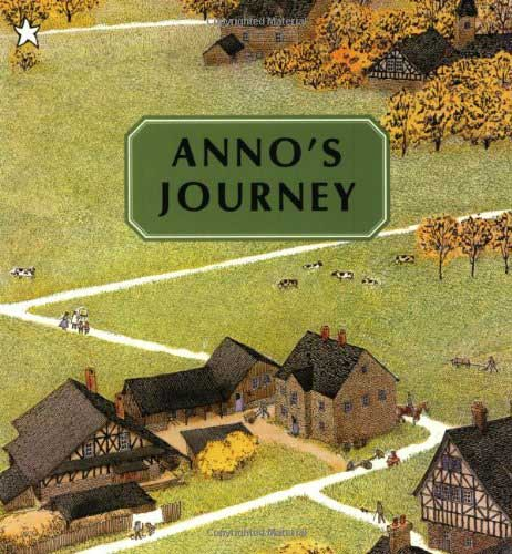 Anno's Journey, by Mitsumasa Anno.                                                                                                                            This visual feast doesn't need a single word to showcase the beauty of northern Europe.                                                                                                                            Buy now: Anno's Journey