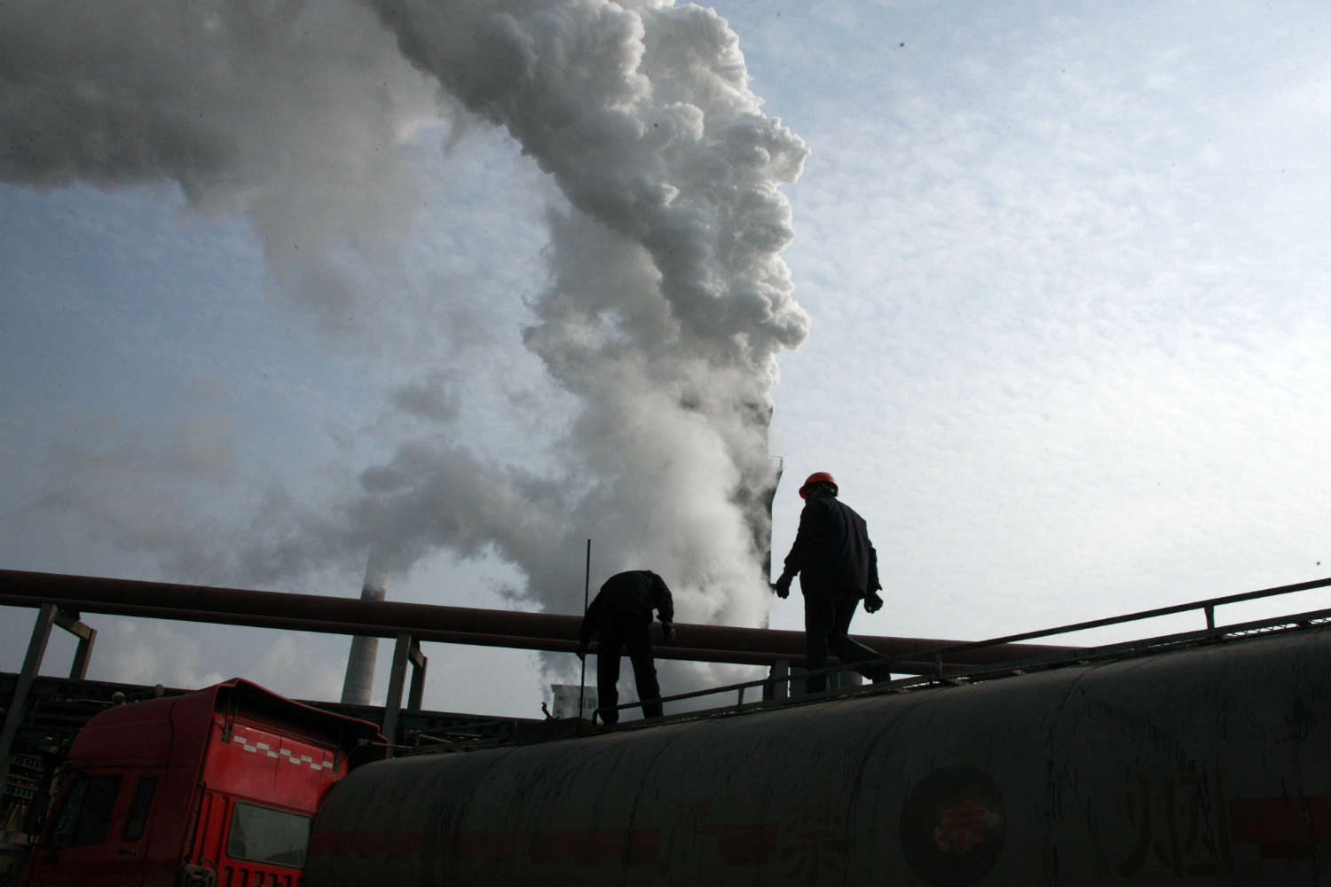 Coal powers China today, but that may be changing