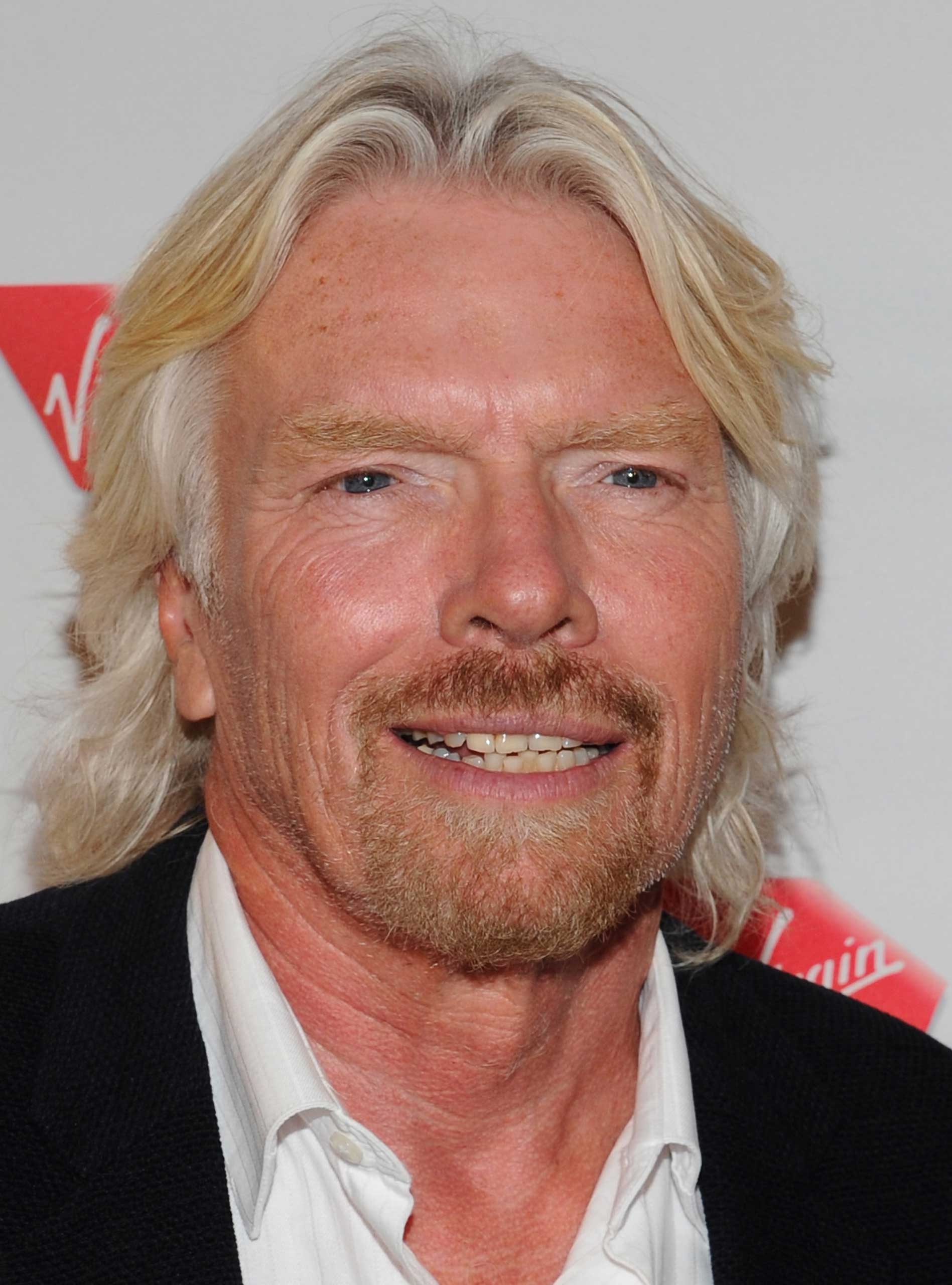 Virgin founder Richard Branson
