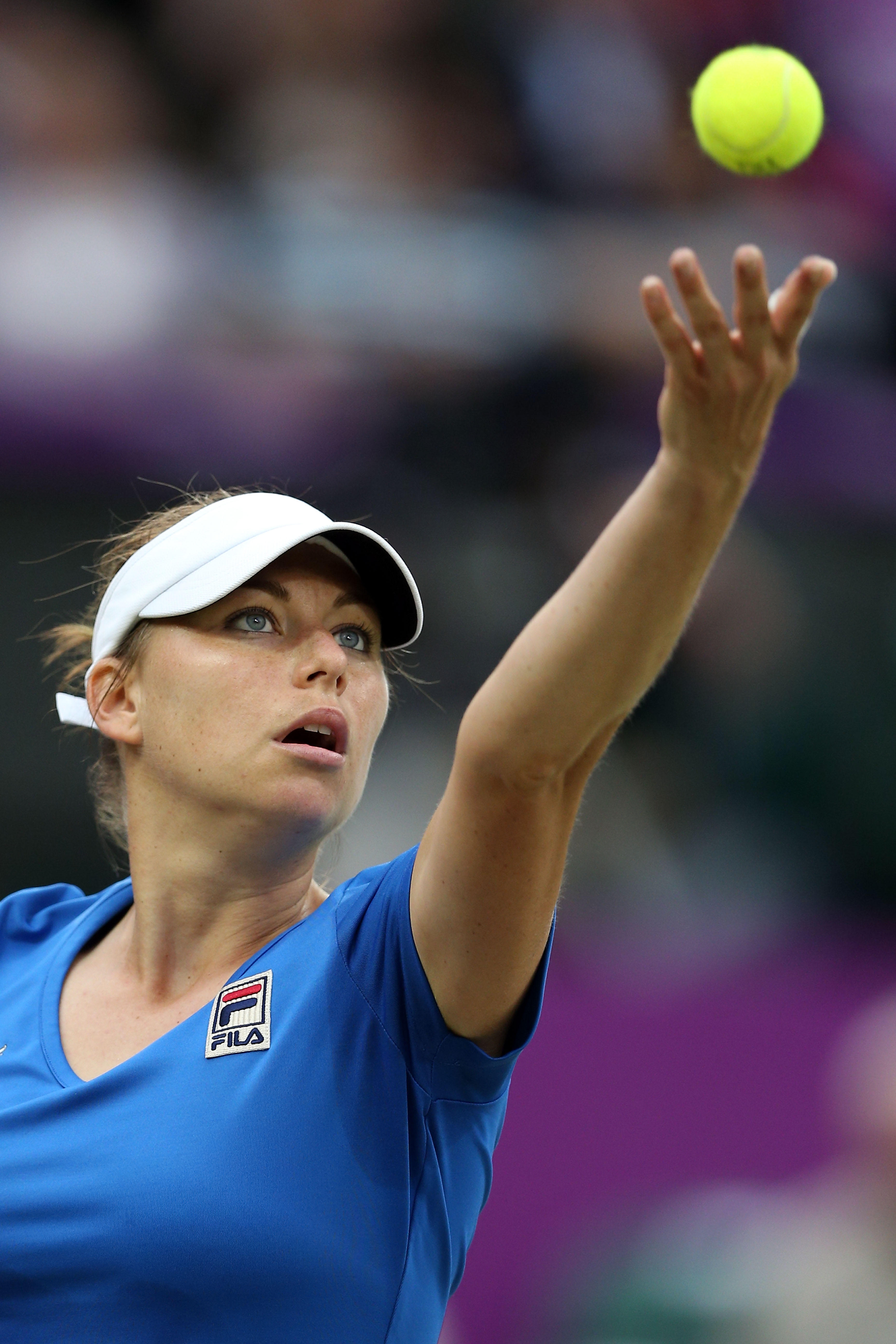 "<b>Vera Zvonareva</b> Brutally honest, Vera Zvonareva's personal website describes the ""row of failures"" that knocked her out of the top 10 to a lowly ranking of 42nd in 2005. By 2010, however, the 26-year-old had gone on to reach the finals of the U.S. Open and Wimbledon and had risen to No. 2 in the world — all while pursuing a degree in international economic relations in Moscow."
