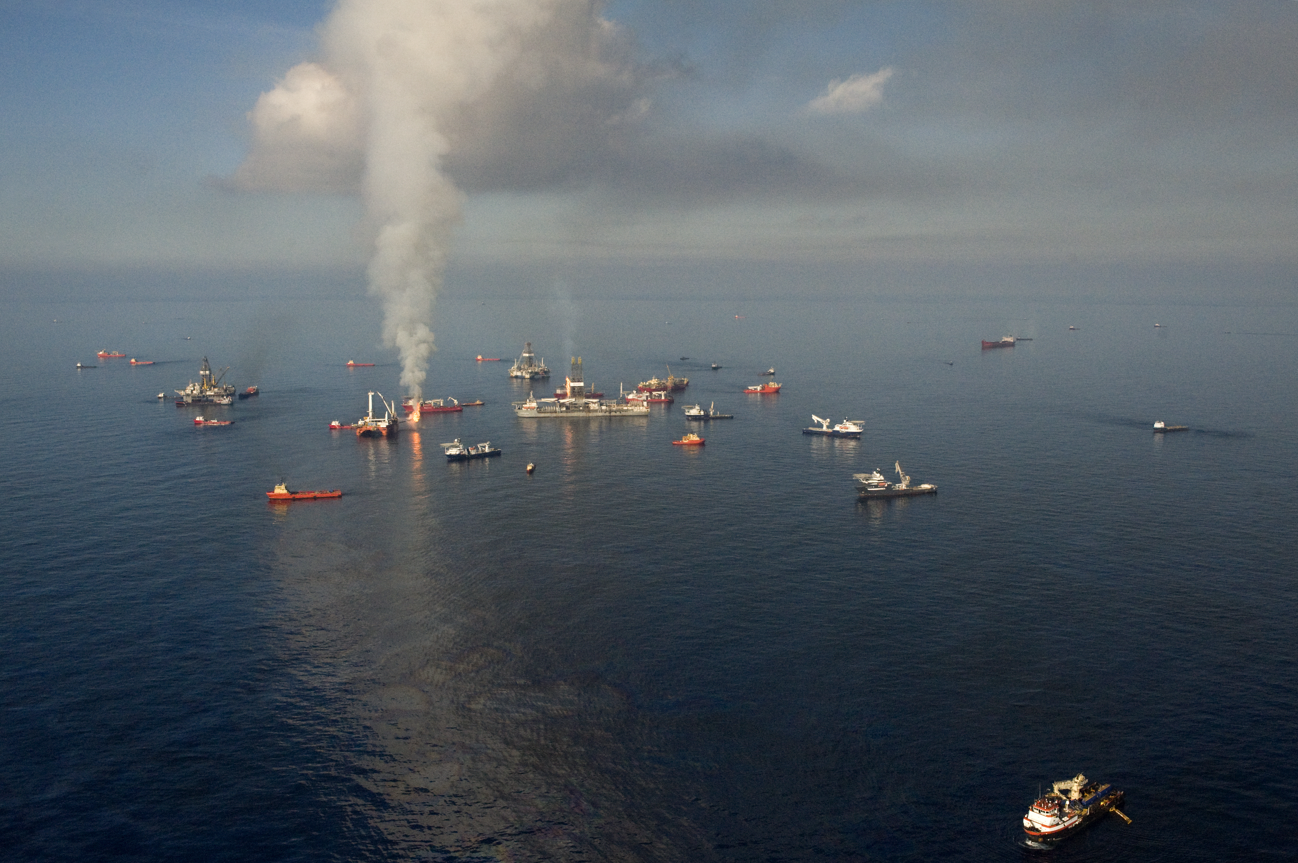 Deepwater Horizon site