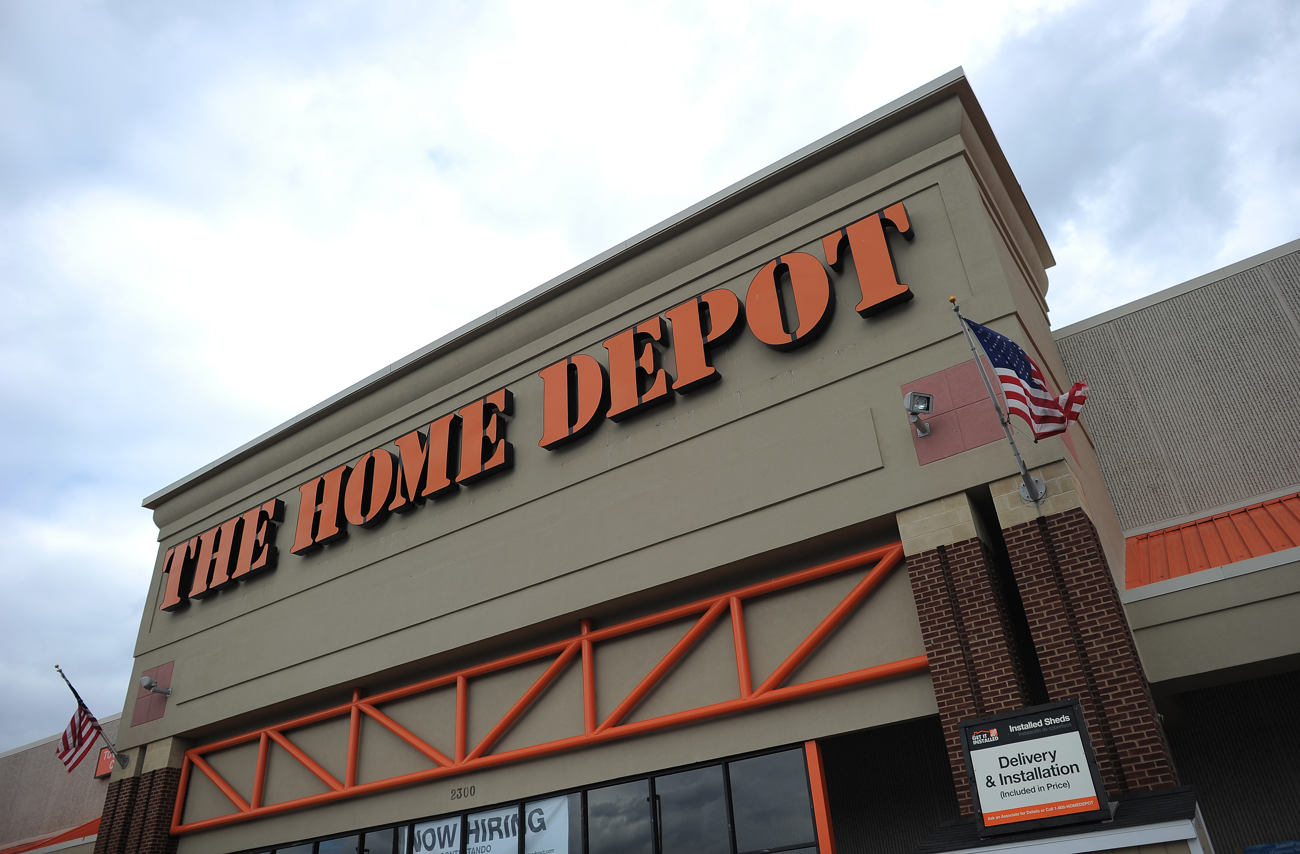 A Home Depot store is seen in Silver Spring, Maryland, on March 28. 2013.