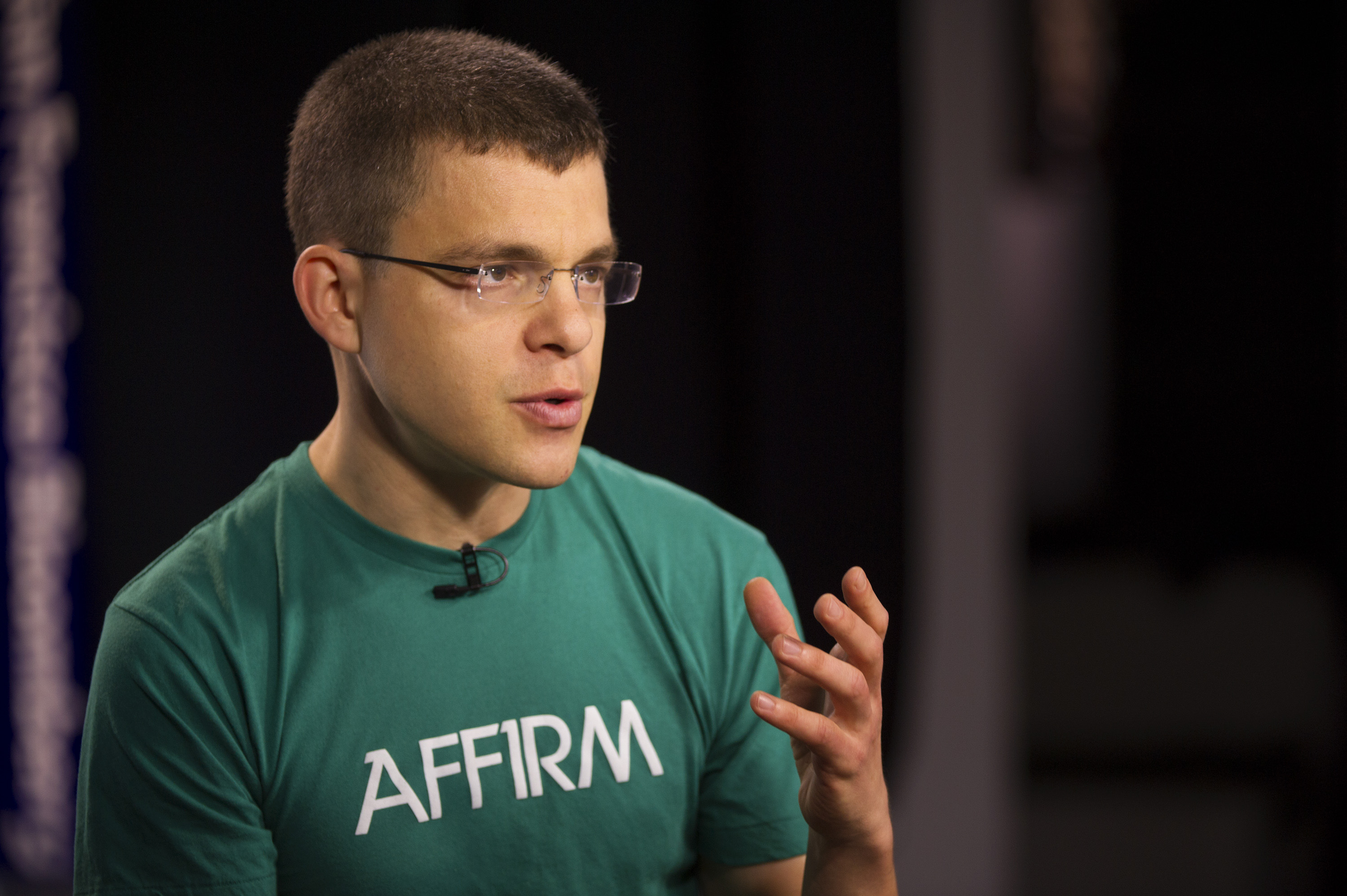 Max Levchin speaks during a Bloomberg West television interview in San Francisco on Thursday, March 28, 2013.