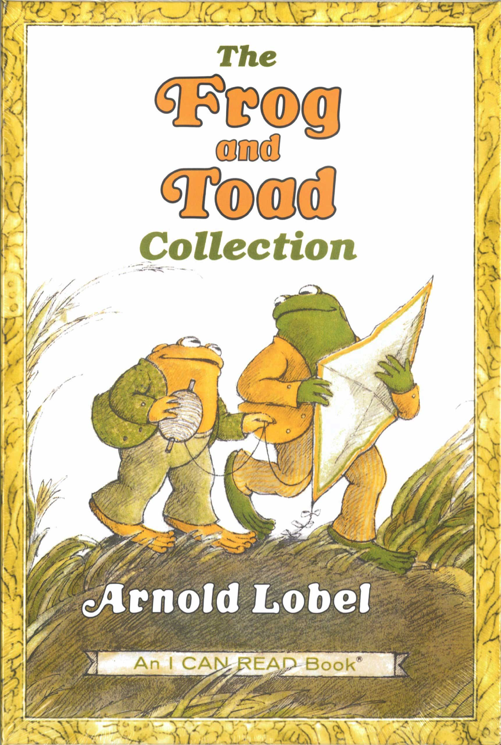 Frog and Toad (series), by Arnold Lobel.                                                                                                                            Two inseparable best friends keep each other company during all their adventures.                                                                                                                            Buy now: Frog and Toad (series)