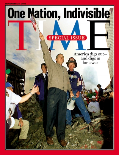 The Sept. 24, 2001, cover of TIME