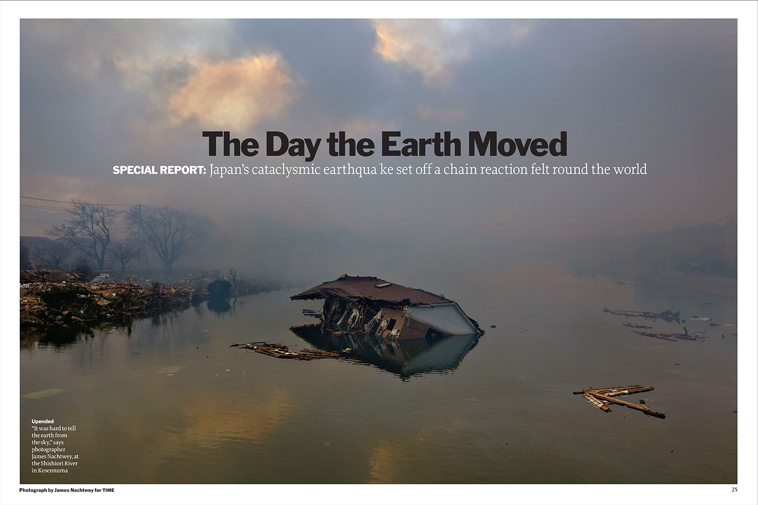 From  The Day the Earth Moved.  March 28, 2011 issue.