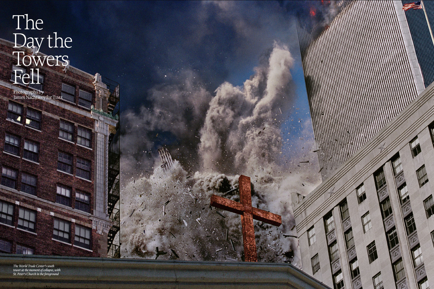 From  The Day the Towers Fell.  September 19, 2011 issue.