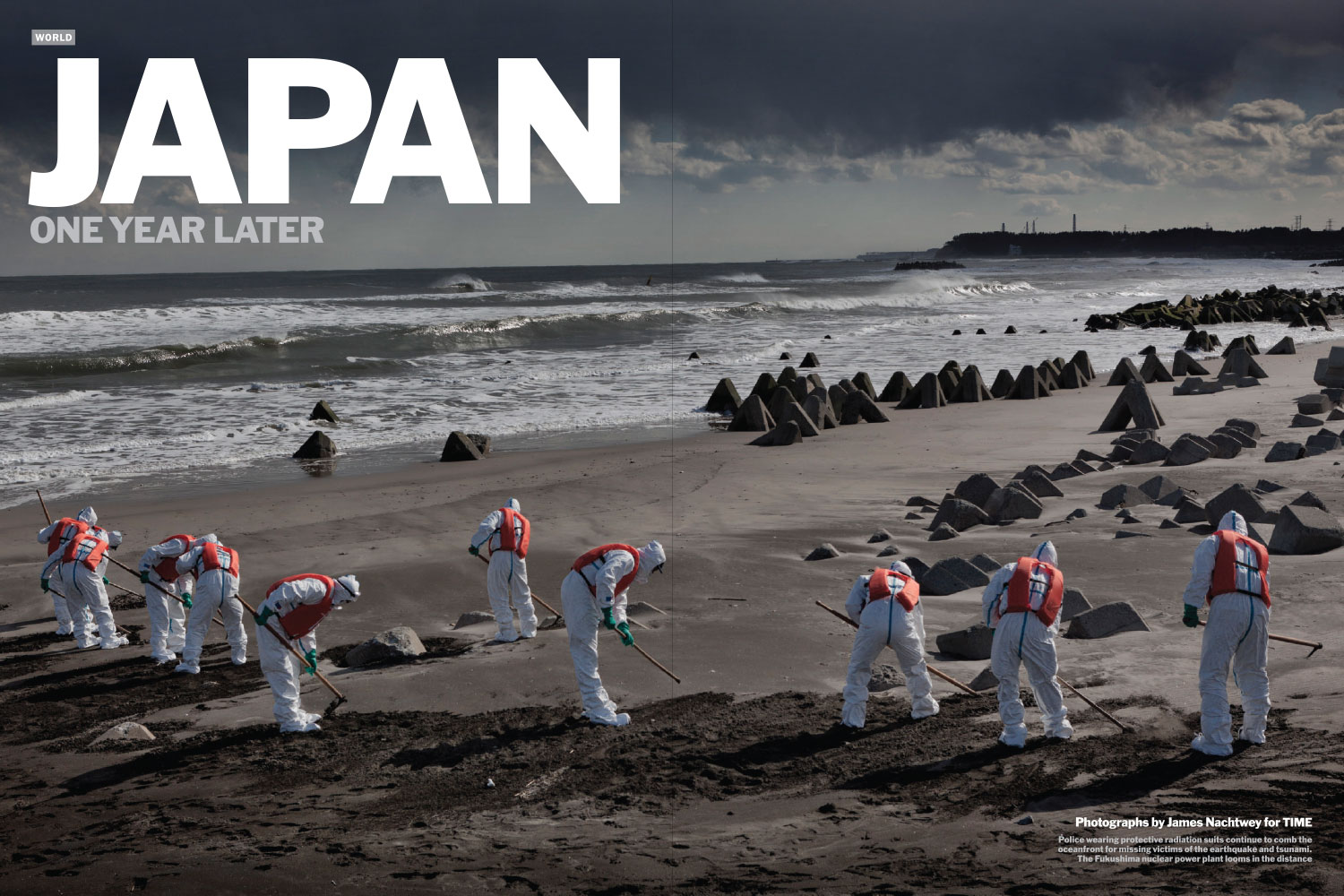 From  Japan One Year Later.  March 12, 2012 issue.