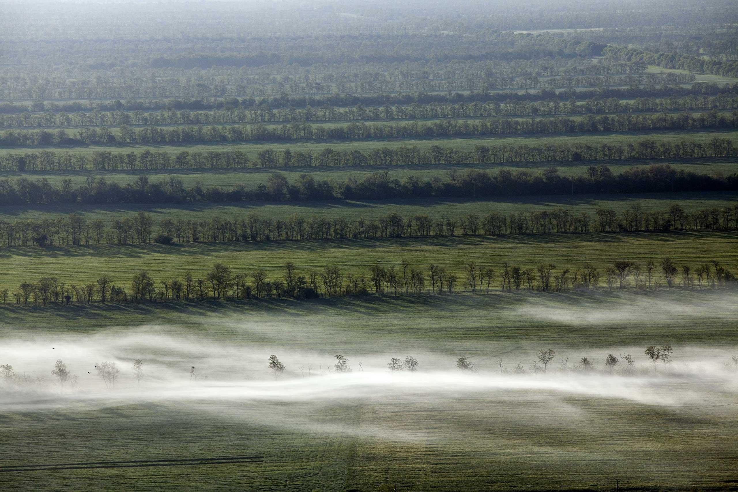 Sept. 22, 2014. A field in Stavropol, Russia.