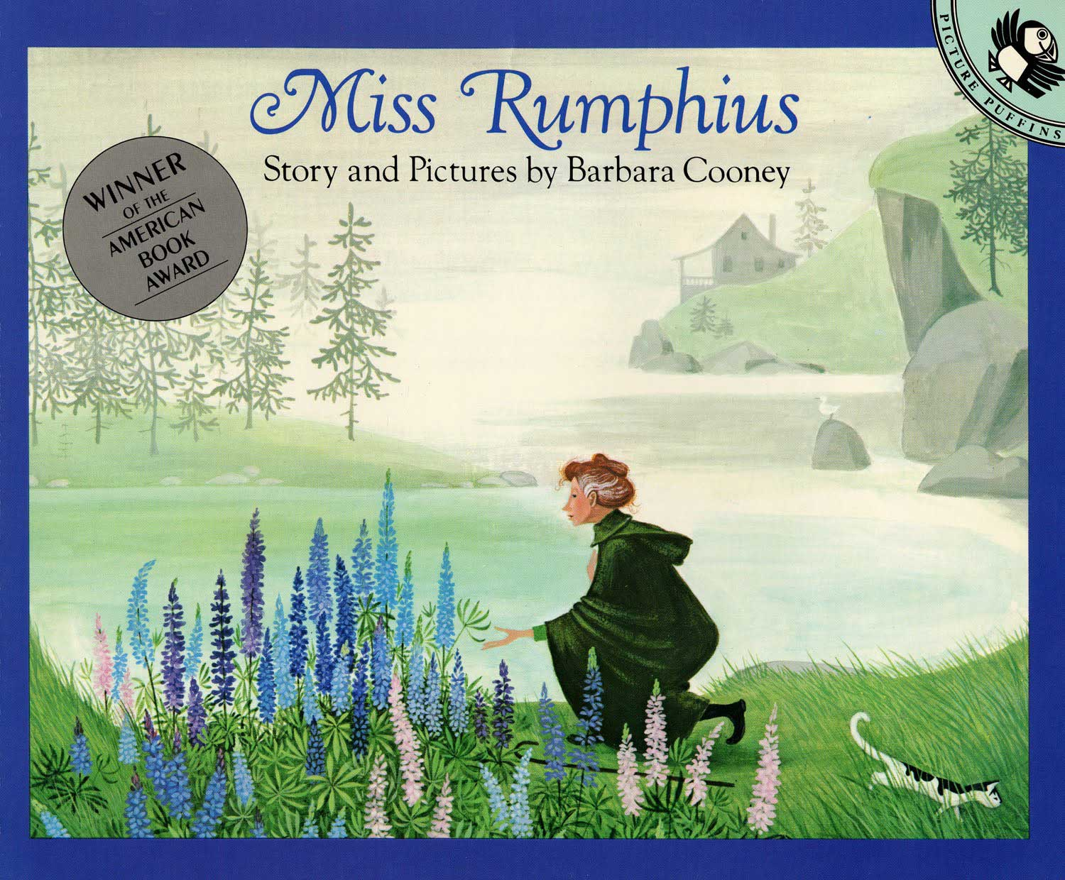 Miss Rumphius, by Barbara Cooney.                                                                                                                            The true story of a woman who spread flower seeds everywhere she went, filling the coast of Maine with blossom.                                                                                                                            Buy now: Miss Rumphius
