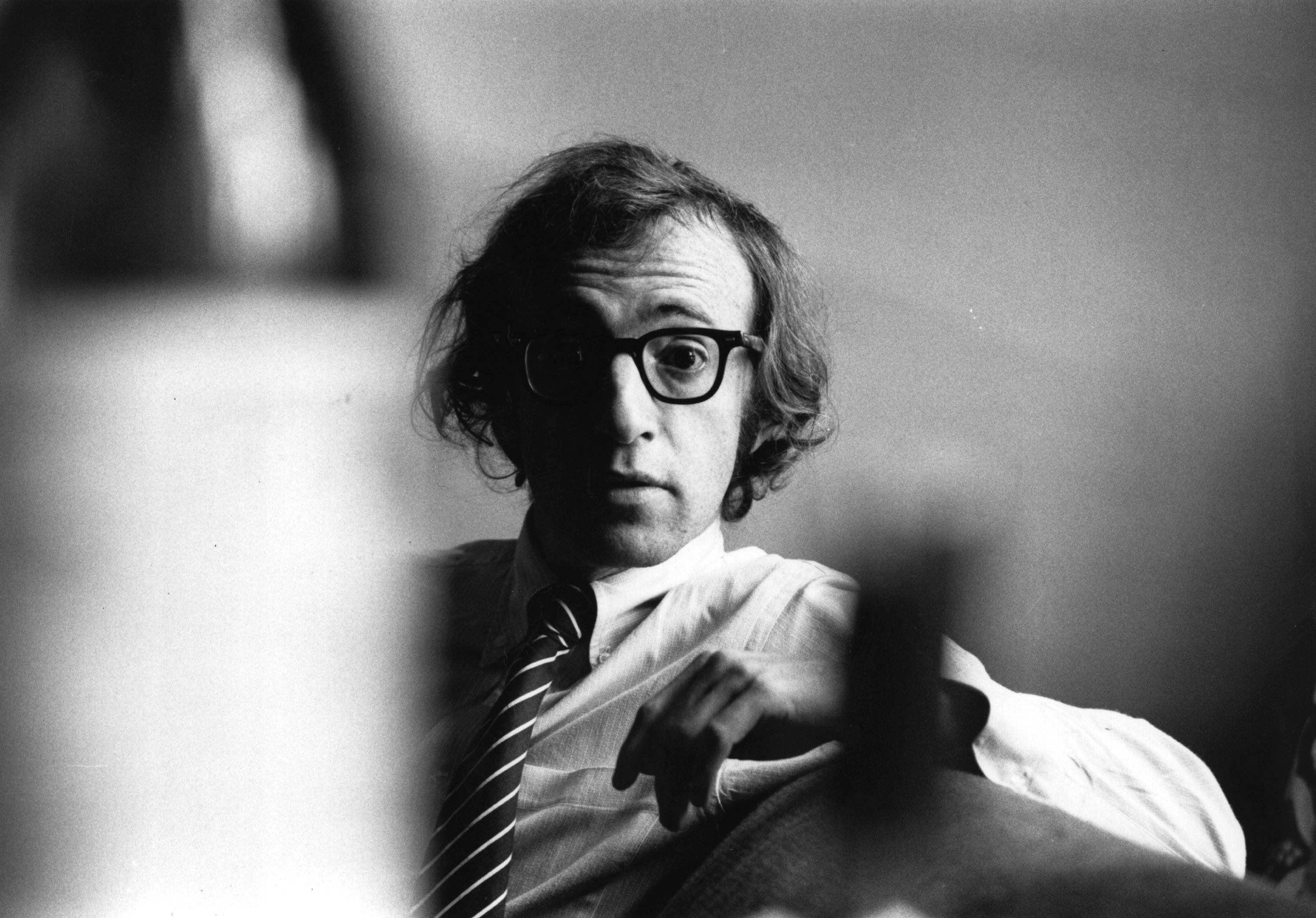 US writer, actor and film director Woody Allen.