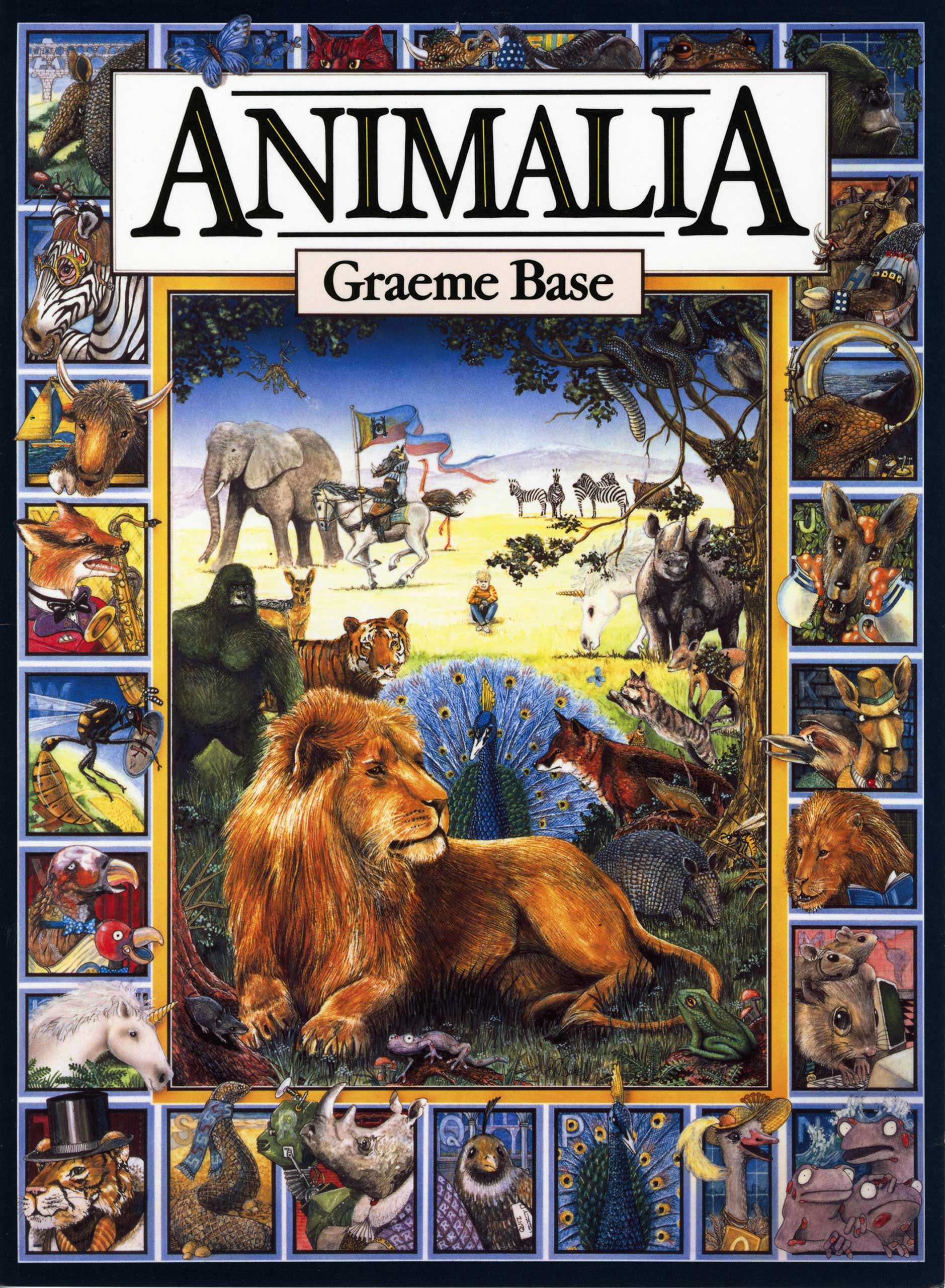 Animalia, by Graeme Base.                                                                                                                            An intricate, animal-themed alphabet book that transcends the limitations of its form.                                                                                                                            Buy now: Animalia