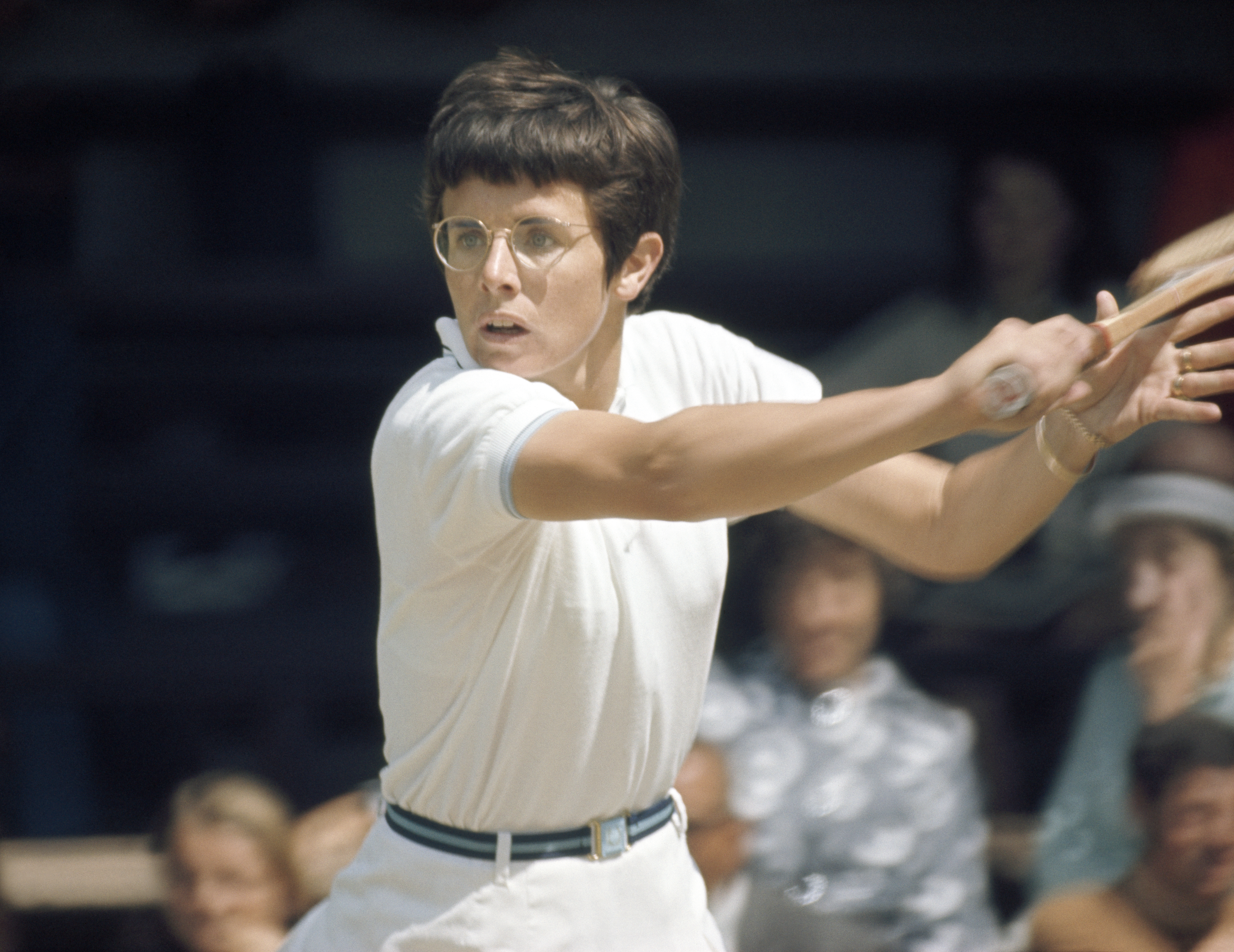 <b>Billie Jean King</b> After winning Wimbledon in 1968, the men's champion, Rod Laver, walked away with $4,800. Billie Jean King, the women's champion, left with just $1,800. At other events, the gap in pay was even wider. King — who won 129 career titles, including 12 Grand Slam single titles — fought to change that.