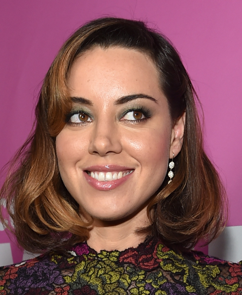 Actress Aubrey Plaza attends the screening of  Life After Beth
