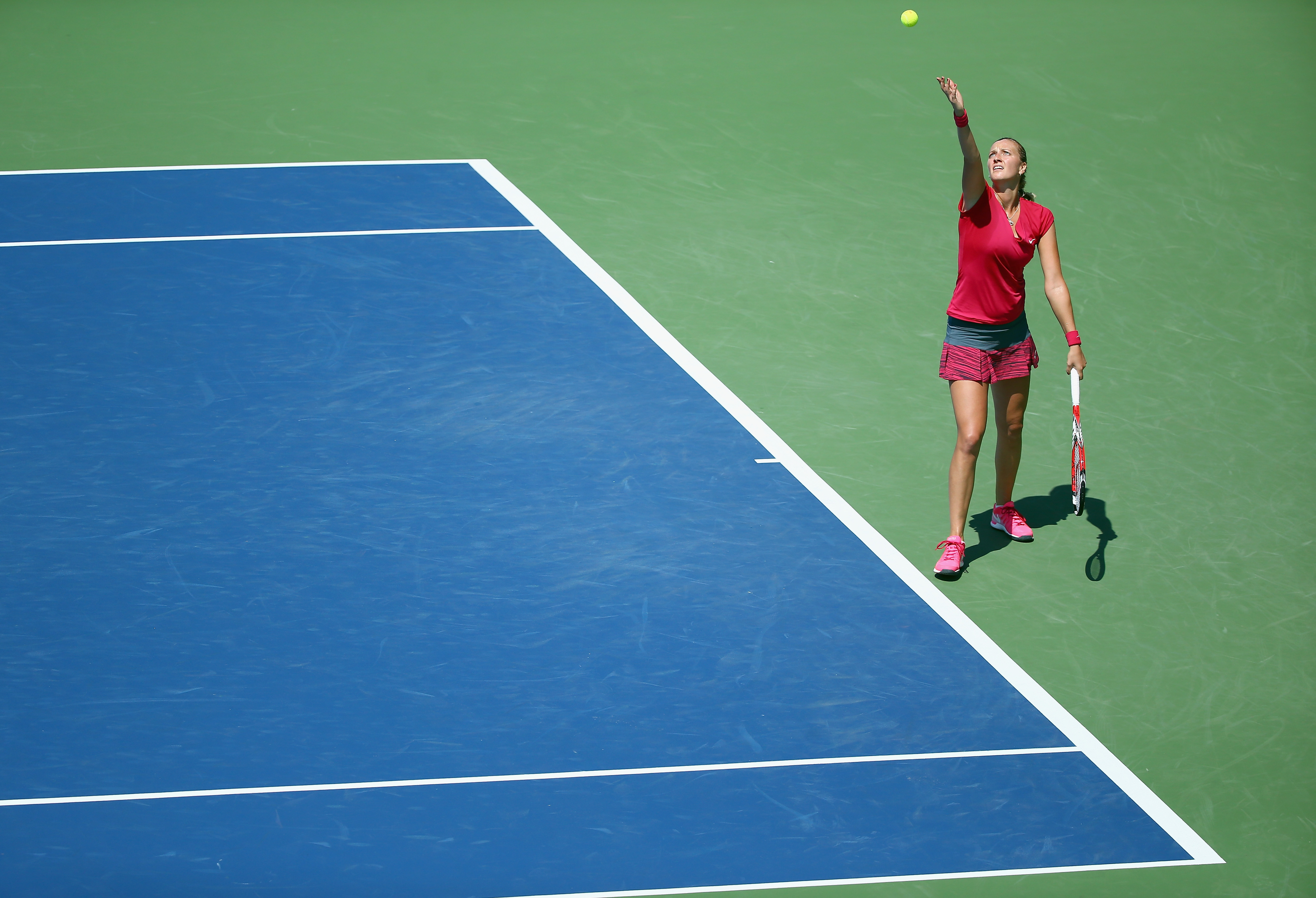<b>Petra Kvitova</b> In 2008, Kvitova, then a 17-year-old ranked No. 143 in the world, made headlines by upsetting former top-ranked Venus Williams at a tournament in Memphis. She woke her father back in the Czech Republic at 3 a.m. to tell him the good news and describe her first-ever press conference.