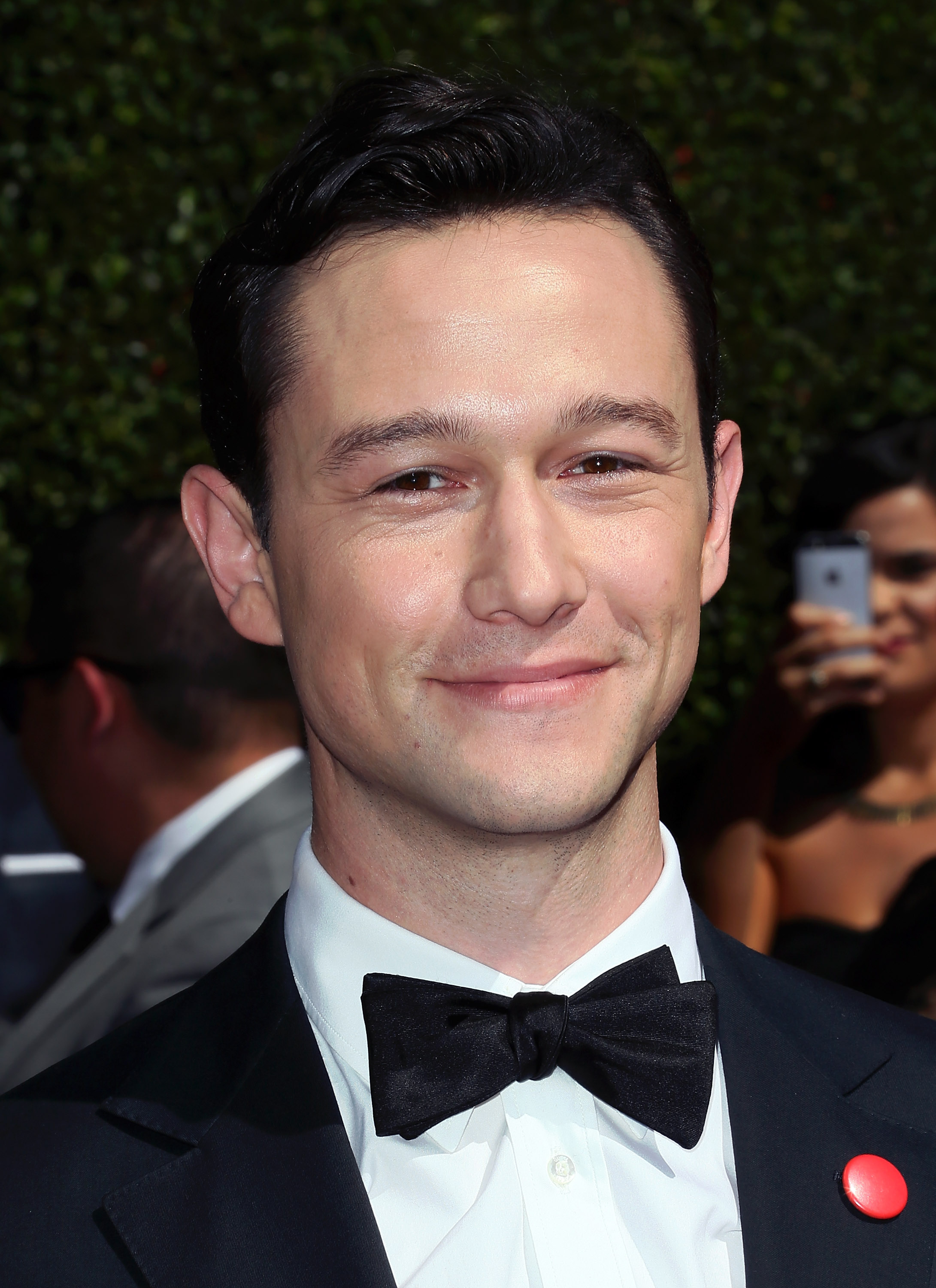 Joseph Gordon-Levitt attends the 2014 Creative Arts Emmy Awards at the Nokia Theatre L.A. Live on Aug. 16, 2014 in Los Angeles.