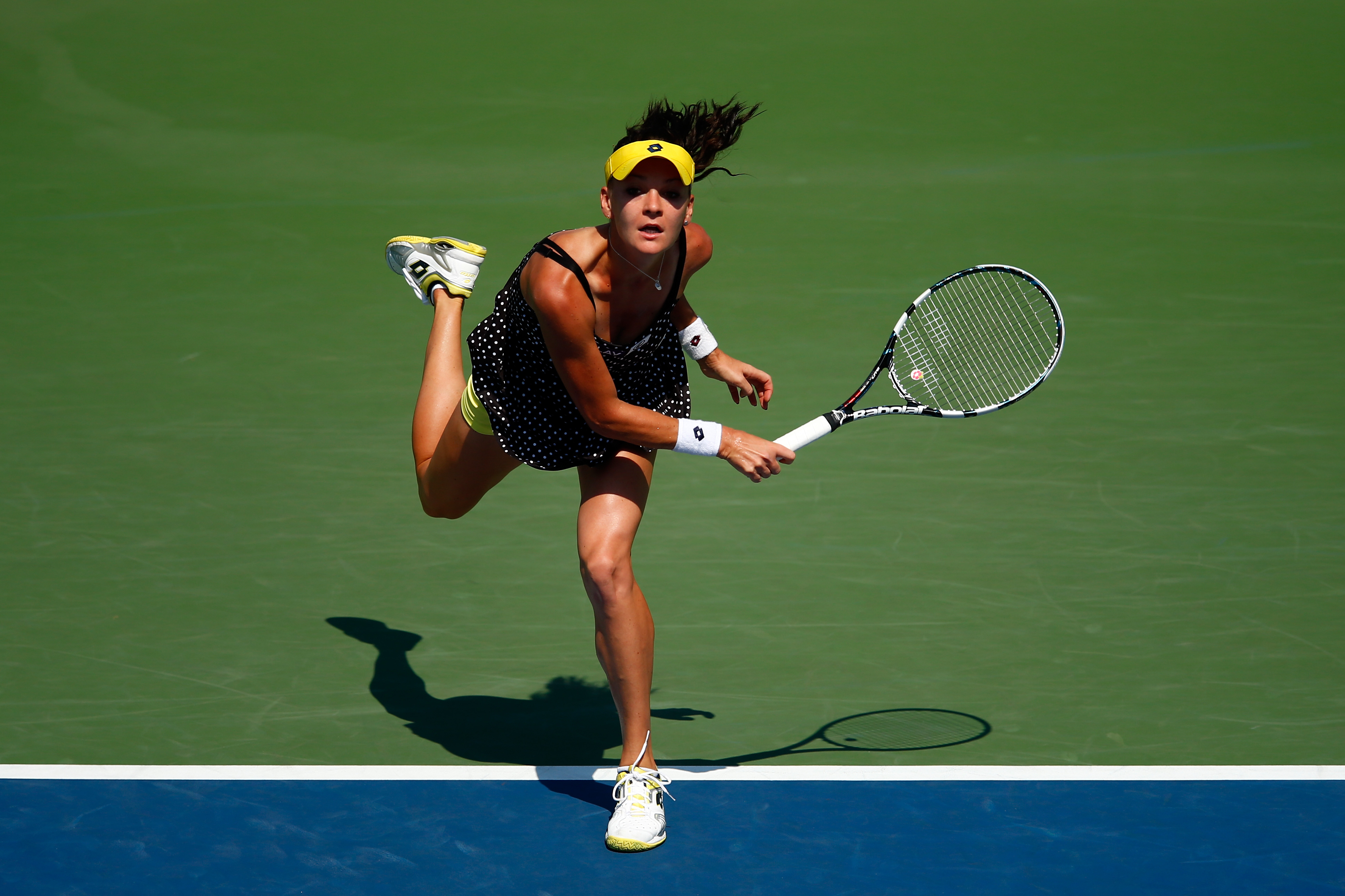 <b>Agnieszka Radwanska</b> What she lacks in power, she makes up for in cunning. Agnieszka Radwanska, relies on tactical accuracy and her understanding of geometry to outfox her opponents, skills that have drawn comparisons to Martina Hingis.