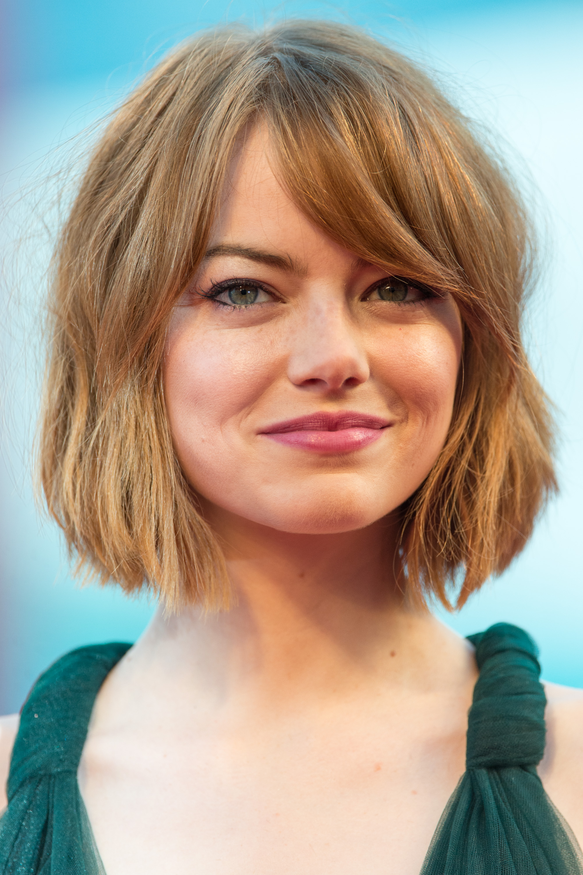Emma Stone attends the Opening Ceremony and 'Birdman' premiere during the 71st Venice Film Festival on August 27, 2014 in Venice, Italy.