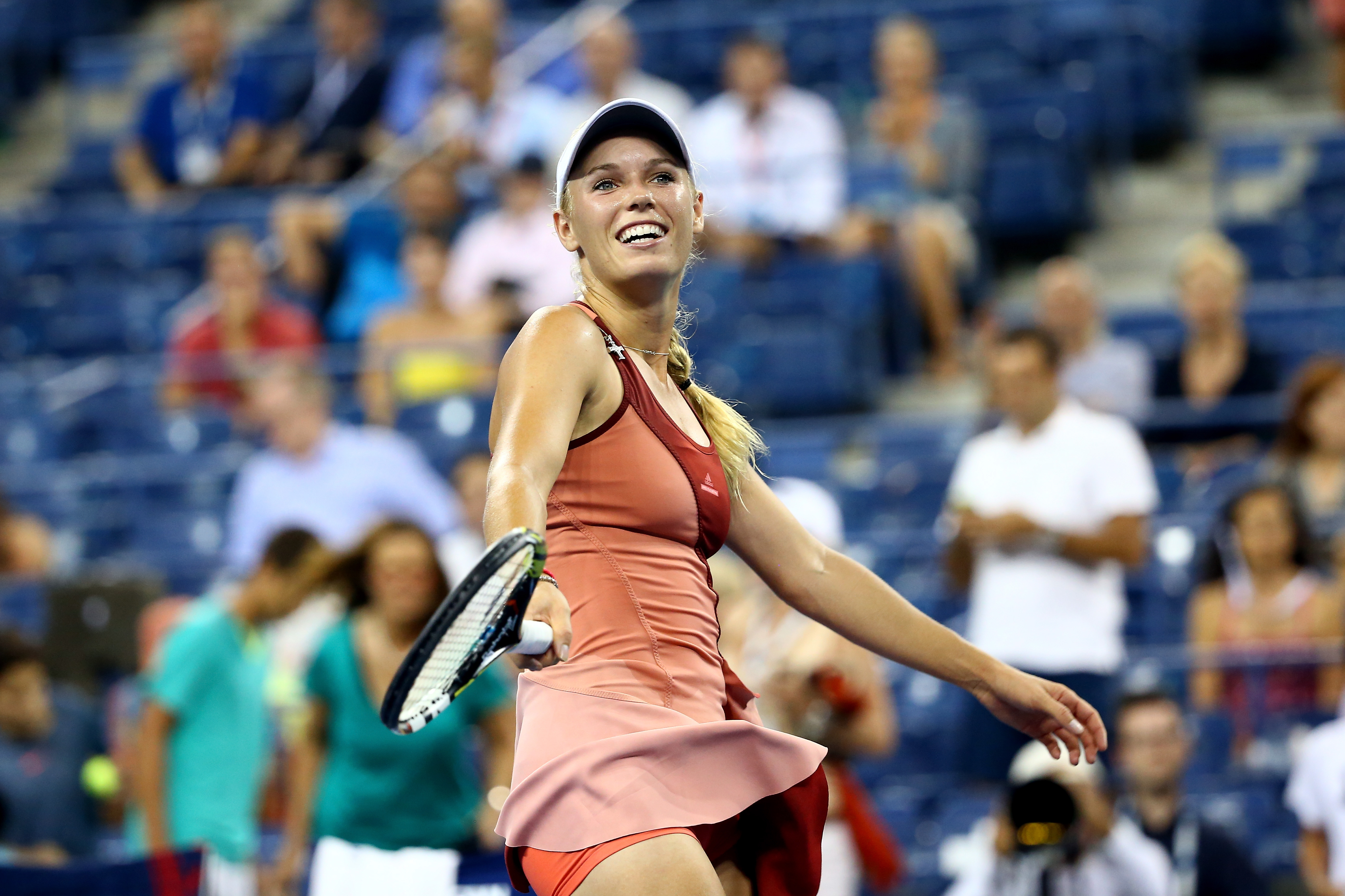 <b>Caroline Wozniacki</b> In November 2010, 20-year-old Caroline Wozniacki surged past Serena Williams to grab the No. 1 ranking — and she held tight. The daughter of Polish immigrants to Denmark, she speaks six languages — including Russian and Swedish — and keeps busy off the court by playing the piano and baking with her mom.