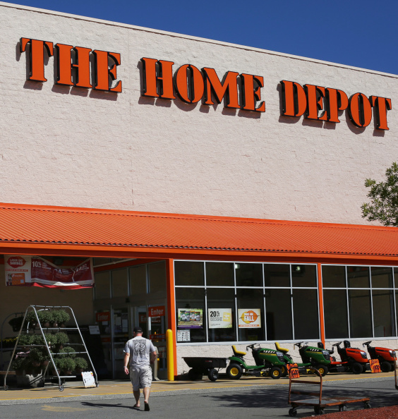 The Home Depot home improvement store in Portland, ME on Thursday, September 4, 2014. Home Depot is currently investigating a potential credit card breach, and determining whether customers' card numbers were collected and sold by hackers.