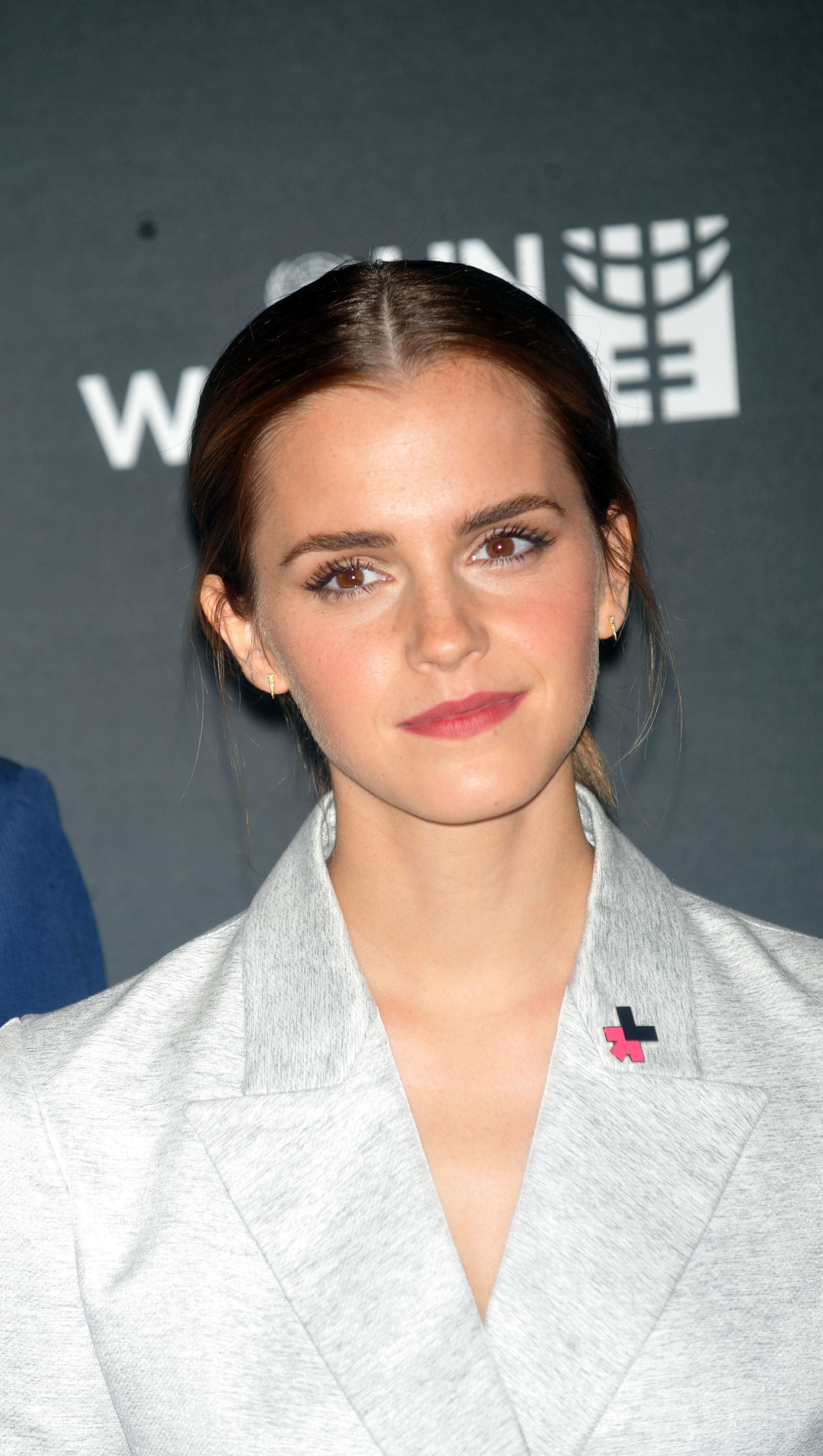 Emma Watson attends the launch of the HeForShe Campaign at the United Nations on September 20, 2014 in New York City.