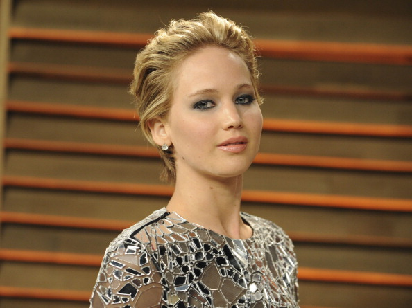 Jennifer Lawrence attends the 2014 Vanity Fair Oscar Party hosted by Graydon Carter in West Hollywood, Calif., on March 2, 2014