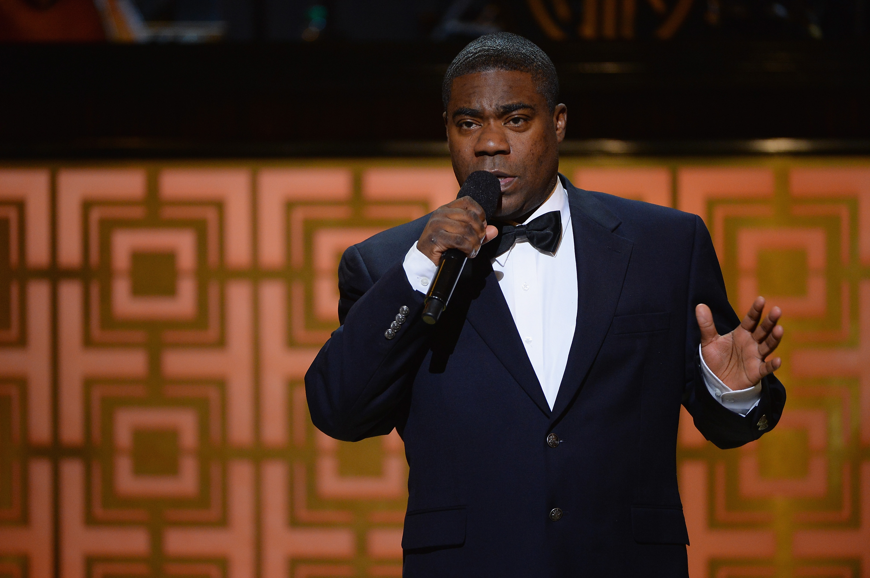 Tracy Morgan speaks onstage at Spike TV's  Don Rickles: One Night Only  on May 6, 2014 in New York City.