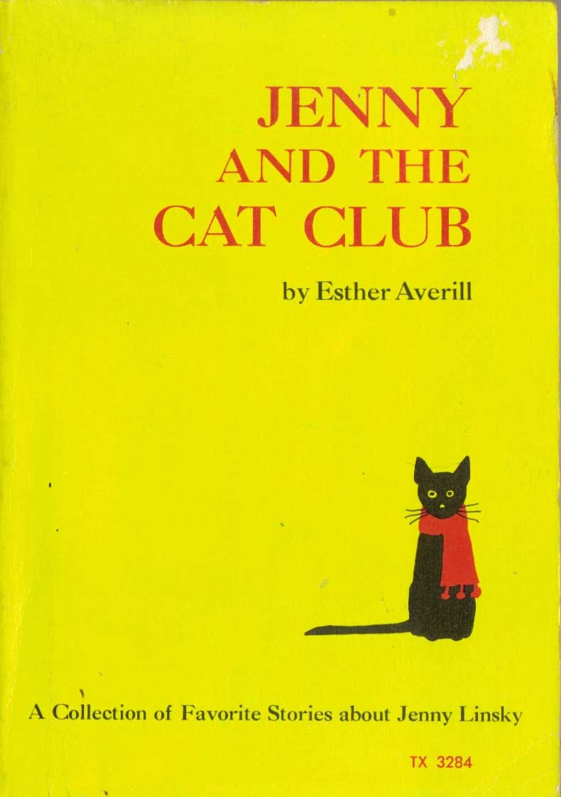 Jenny and the Cat Club, by Esther Averill.                                                                                                                            A cat named Jenny tries to finagle her way into the glamorous Cat Club.                                                                                                                            Buy now: Jenny and the Cat Club