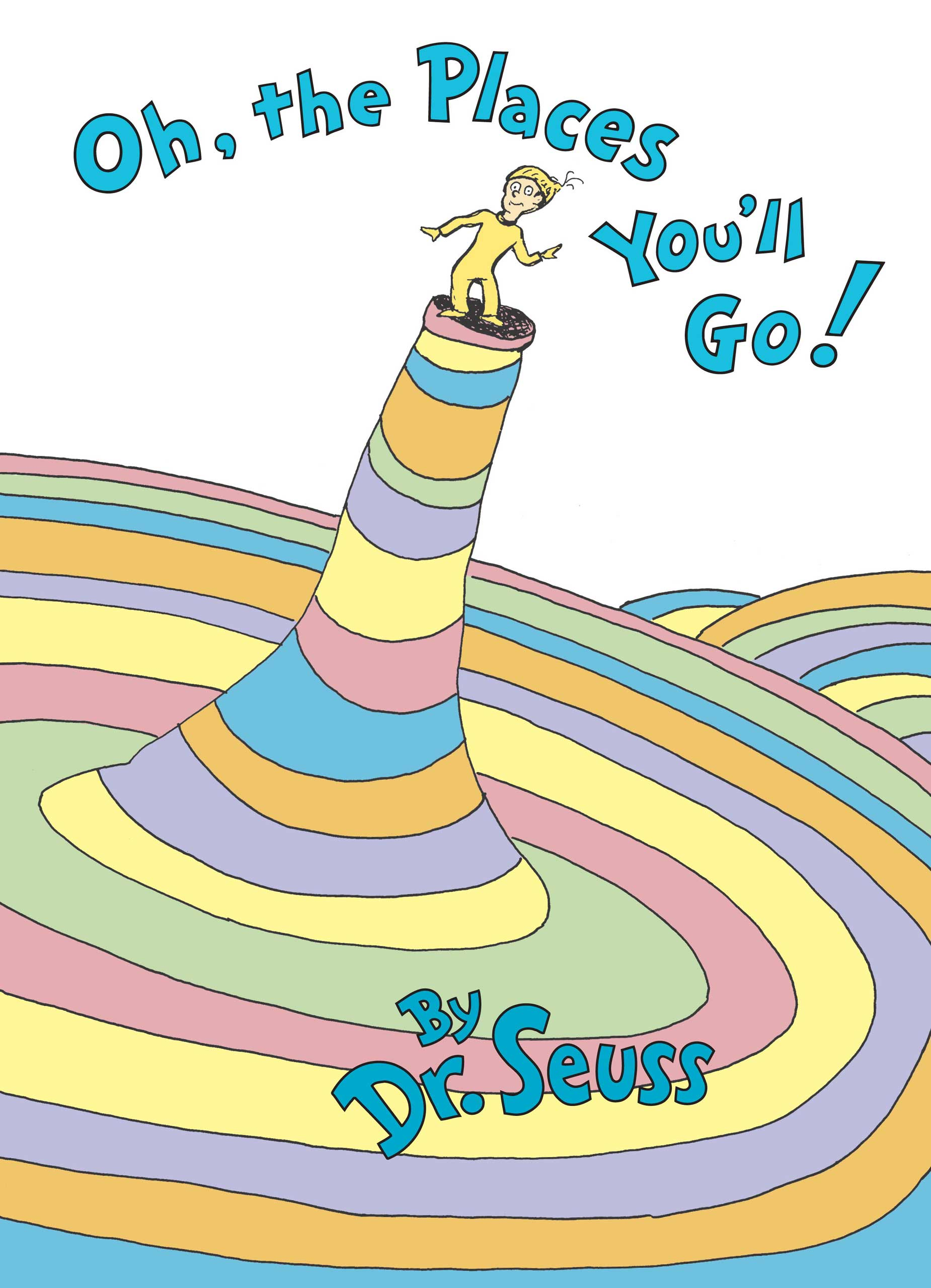 Oh, The Places You'll Go!, by Dr. Seuss.                                                                                                                            The optimistic poem is perfect for anyone about to head into a new world, whether that's middle school or the job market.                                                                                                                            Buy now: Oh, The Places You'll Go!