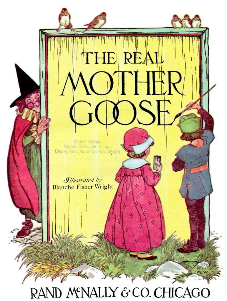 The Real Mother Goose, with illustrations by Blanche Fisher Wright.                                                                                                                            This iconic book of nursery rhymes has stayed relevant nearly a century after it was first published.                                                                                                                            Buy now: The Real Mother Goose