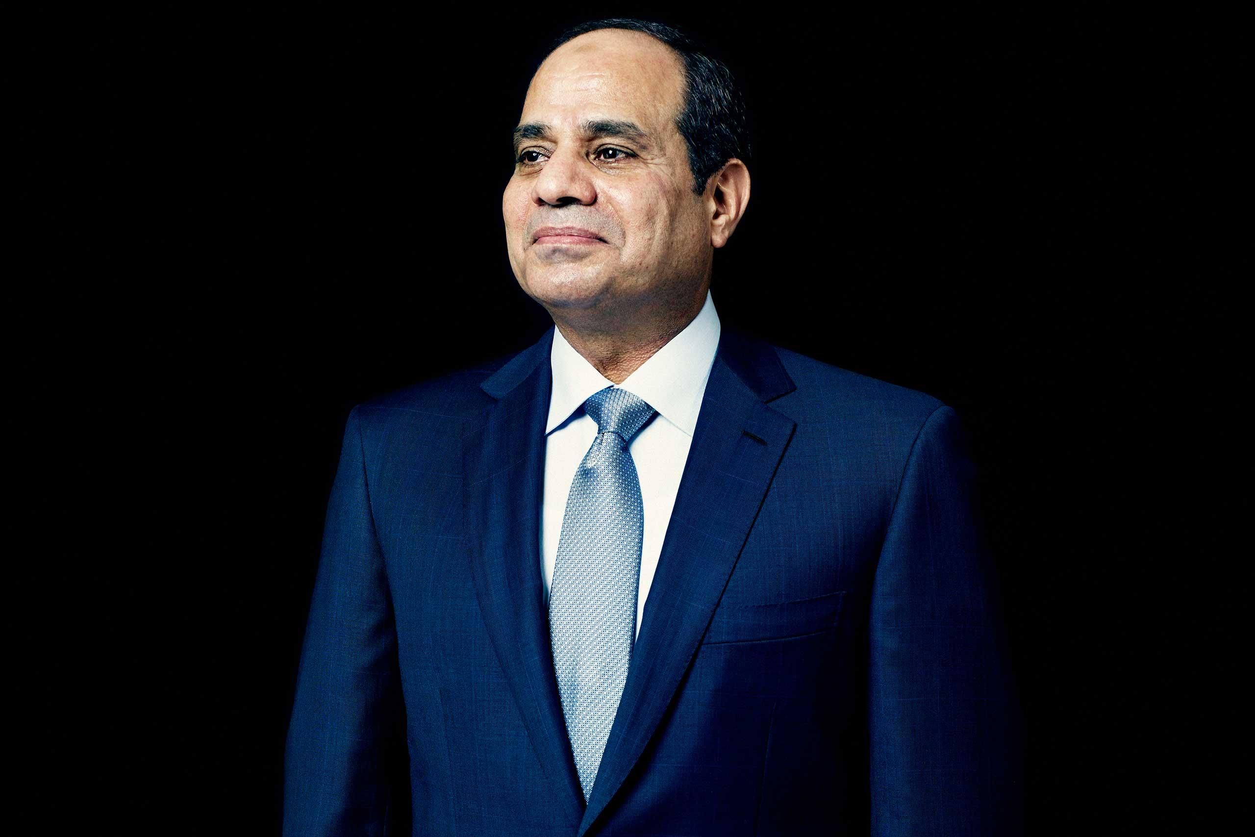 President Abdul Fattah al-Sisi of Egypt in New York City on Sept. 23, 2014