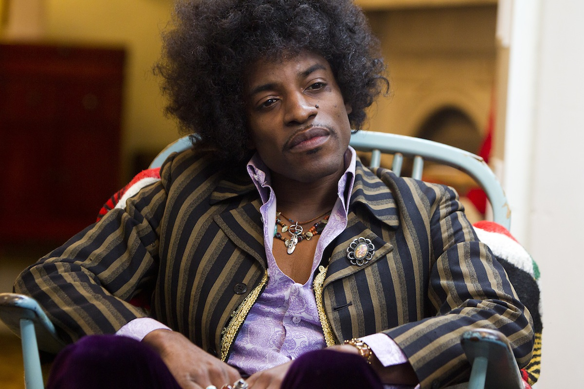 André Benjamin as Jimi Hendrix in 'All Is By My Side'