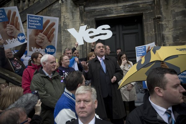 Scottish Referendum: The Possible Price of Independence | Time
