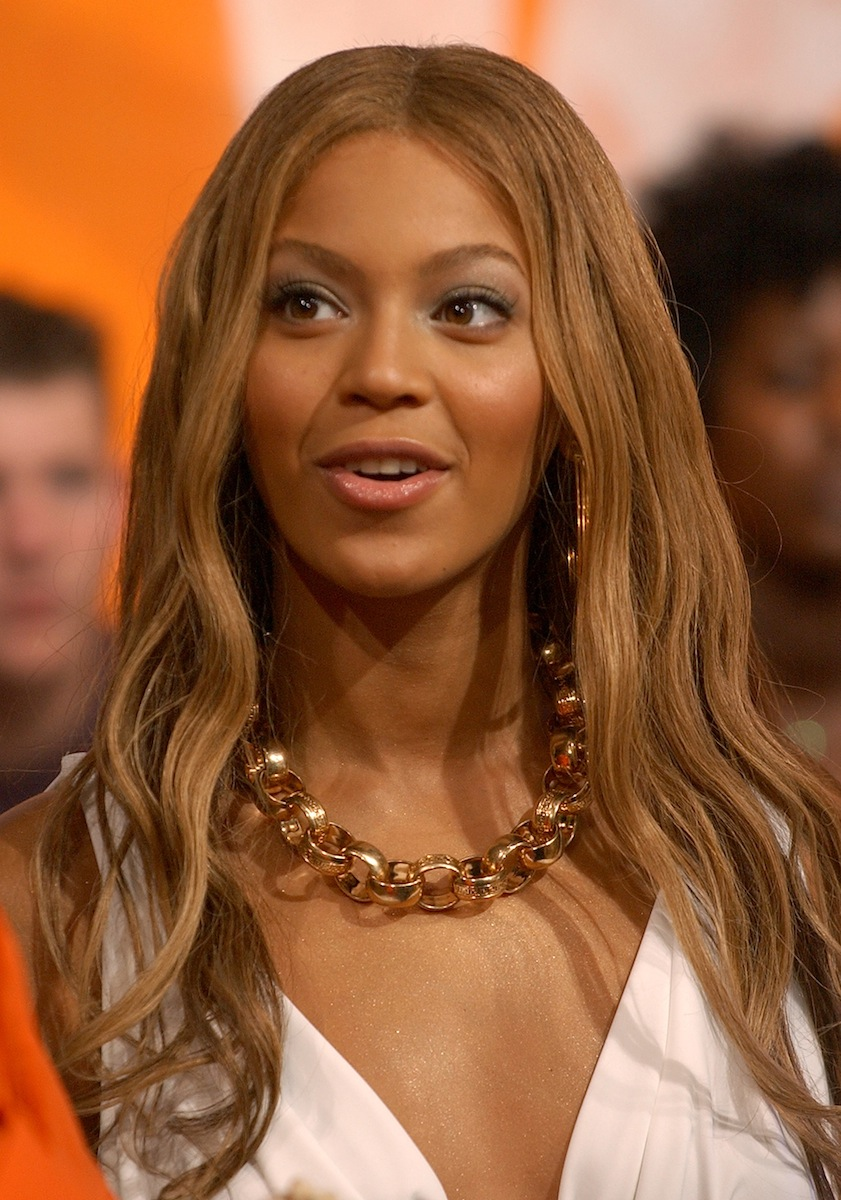 Beyoncé at MTV Studios on May 23, 2003, shortly before her first solo album was released
