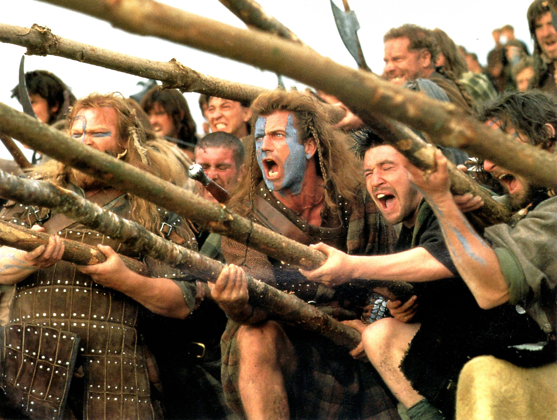 "Braveheart, 1995. Mel Gibson's William Wallace leads his countrymen in the First War of Scottish Independence (in the 13th century, before secession wars were waged in ballot boxes). Bloody and rousing, Braveheart is the only ""Scottish"" movie to win the Oscar for Best Picture — because nothing says Scotland like an American-born Aussie's film shot largely in Ireland."