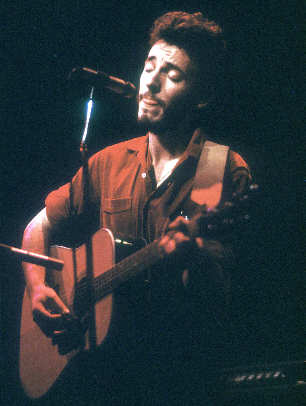 """1973:                                Springsteen released his first album, Greetings from Asbury Park, N.J. While the album didn't sell well, it started Springsteen's legacy with tracks like """"Blinded by the Light"""" and """"Growin' Up"""". During his 2009 'Working on a Dream' tour, Springsteen the album in its entirety. """"This was the miracle,"""" he told the crowd. """"This was the record that took us from way below zero to…one."""""""