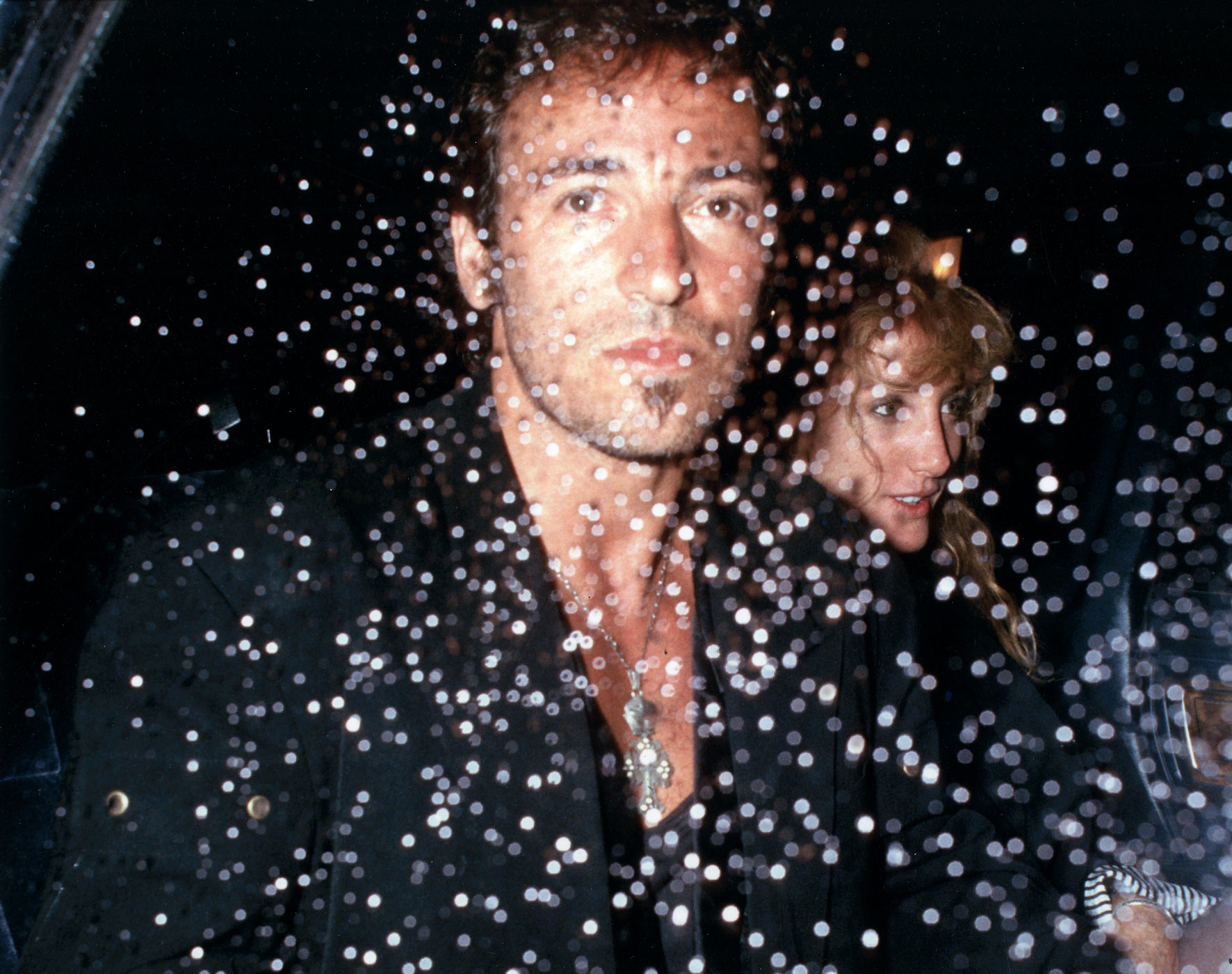 1988:                                Springsteen sprang from the music magazines to the tabloids when he divorced actress Julianne Phillips to marry his back-up singer, Patti Scialfa. The couple married in 1991 and have three children.